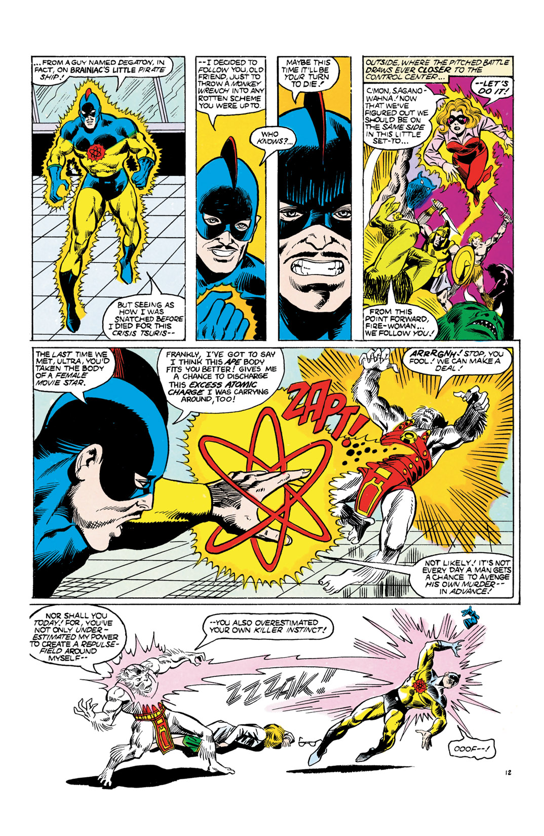 Read online All-Star Squadron comic -  Issue #55 - 13