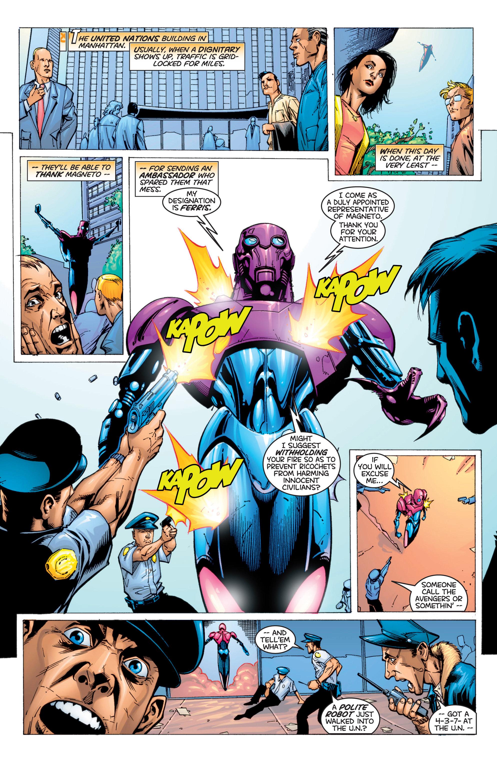 Read online Uncanny X-Men (1963) comic -  Issue #366 - 13