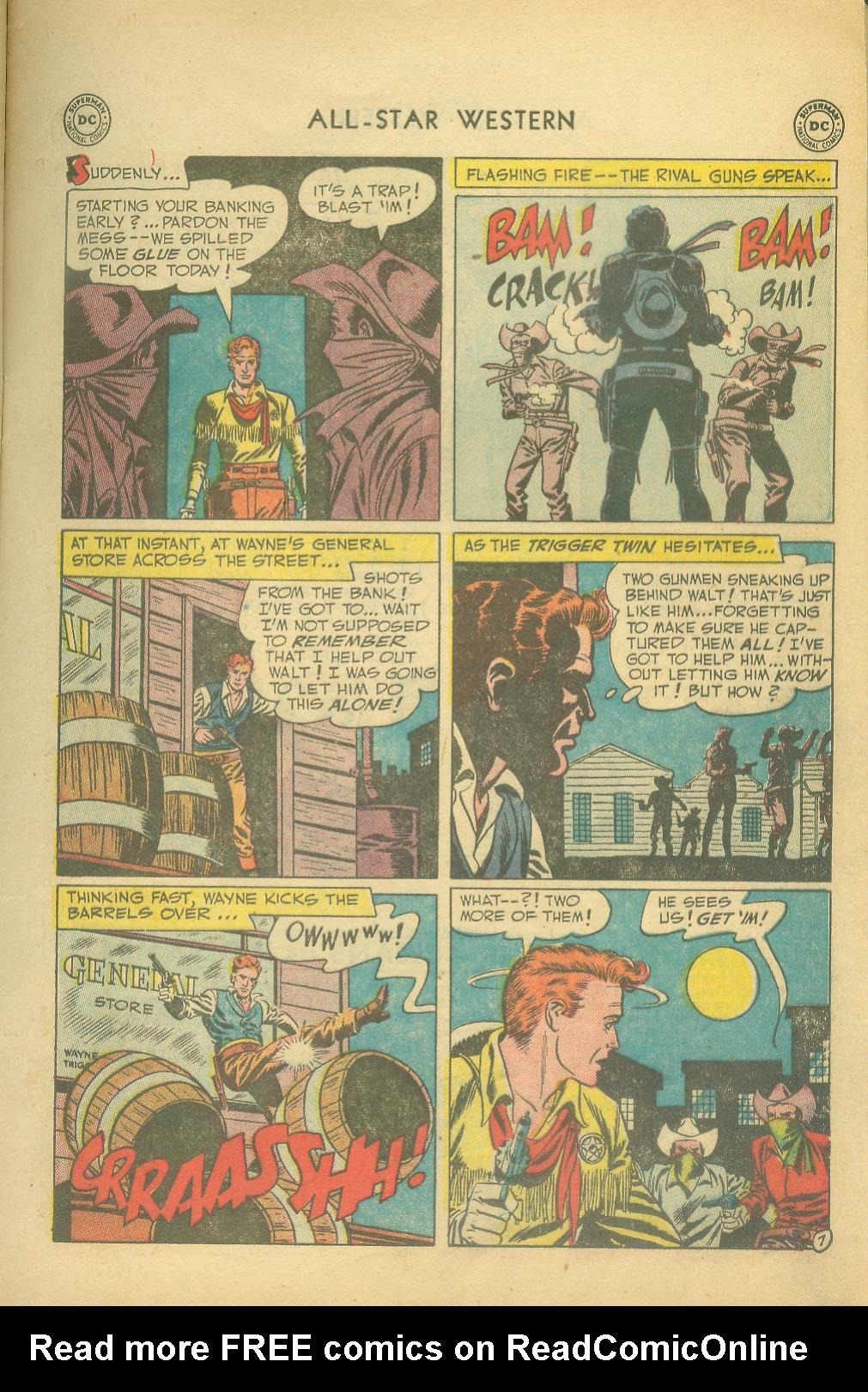 Read online All-Star Western (1951) comic -  Issue #65 - 9