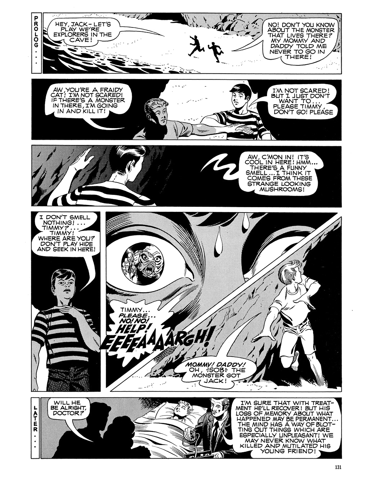 Read online Eerie Archives comic -  Issue # TPB 5 - 132
