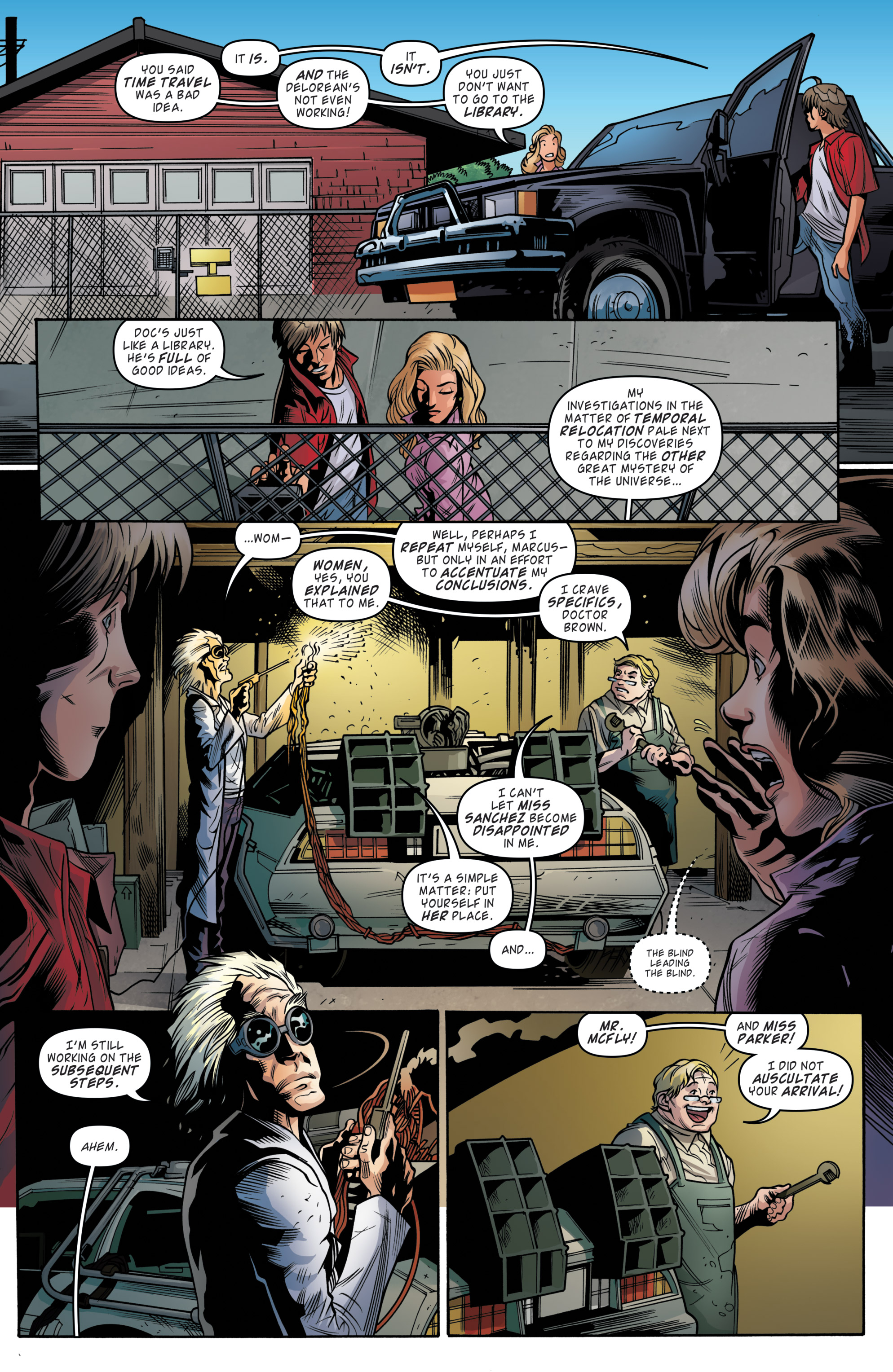 Read online Back to the Future (2015) comic -  Issue #19 - 16