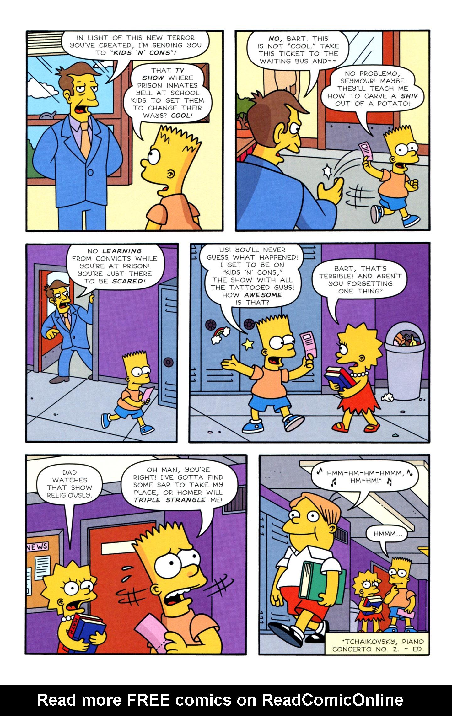 Read online Simpsons Comics Presents Bart Simpson comic -  Issue #72 - 4