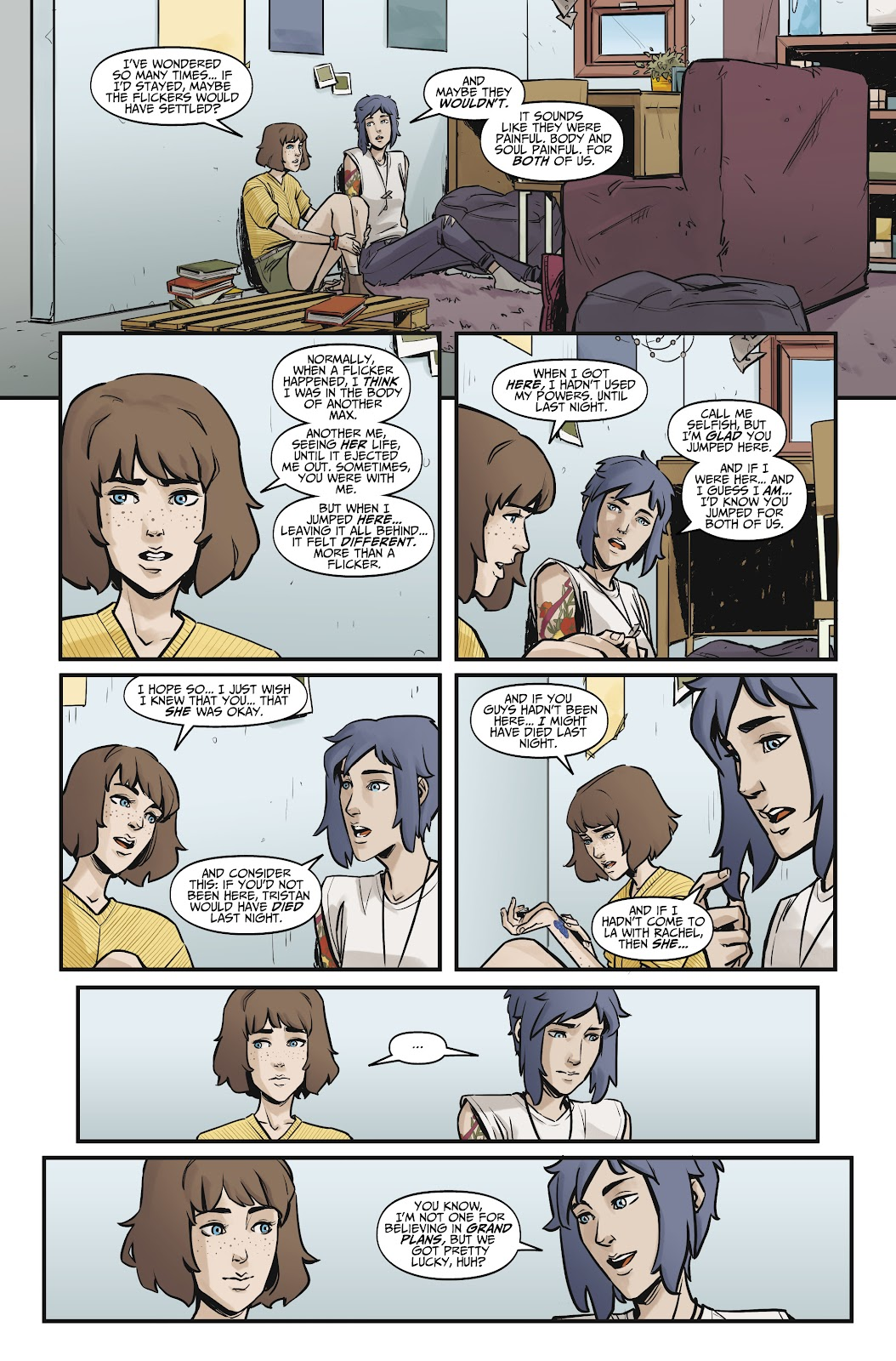 Read online Life is Strange comic -  Issue #9 - 23