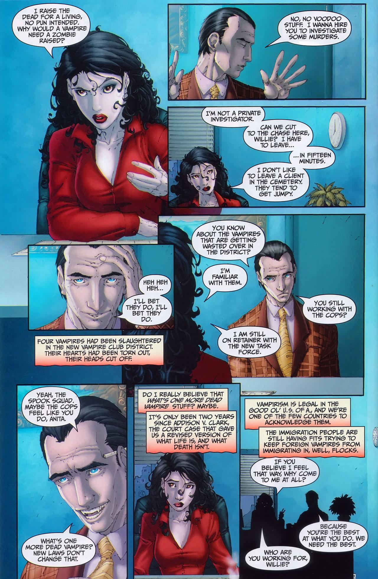 Read online Anita Blake, Vampire Hunter: Guilty Pleasures comic -  Issue #1 - 5