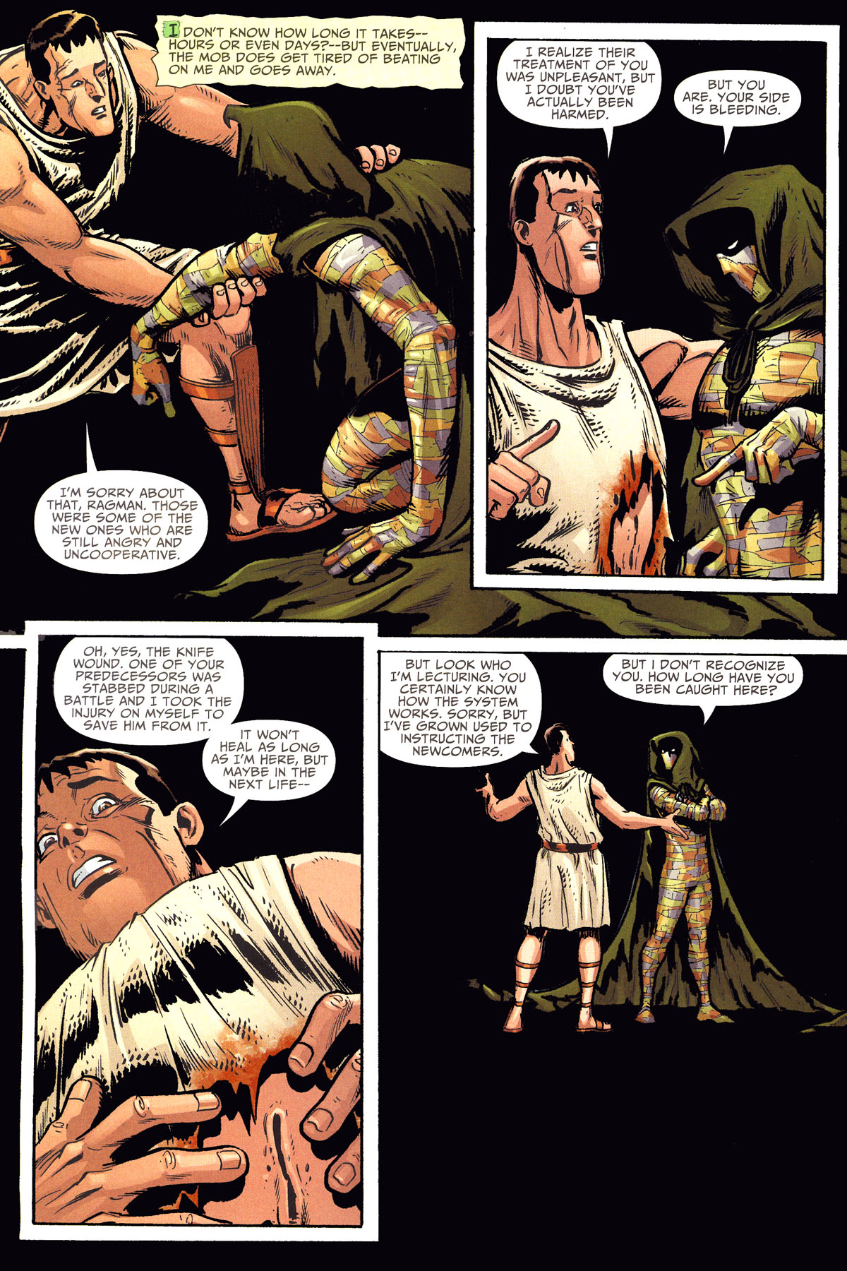 Read online Shadowpact comic -  Issue #8 - 14