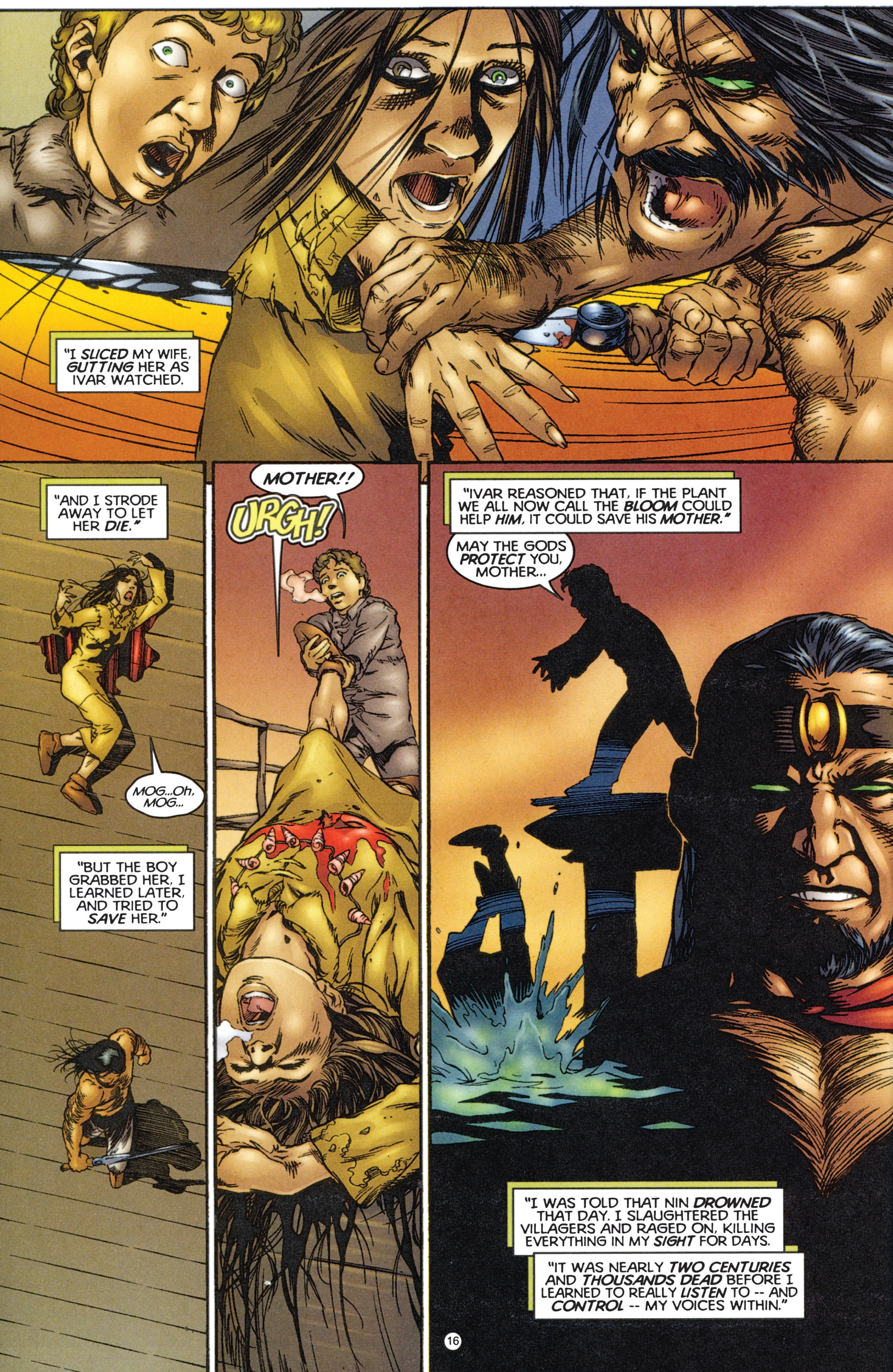 Read online Eternal Warriors comic -  Issue # Issue The Immortal Enemy - 16