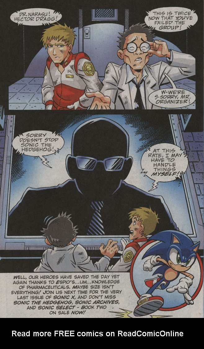 Read online Sonic X comic -  Issue #39 - 32