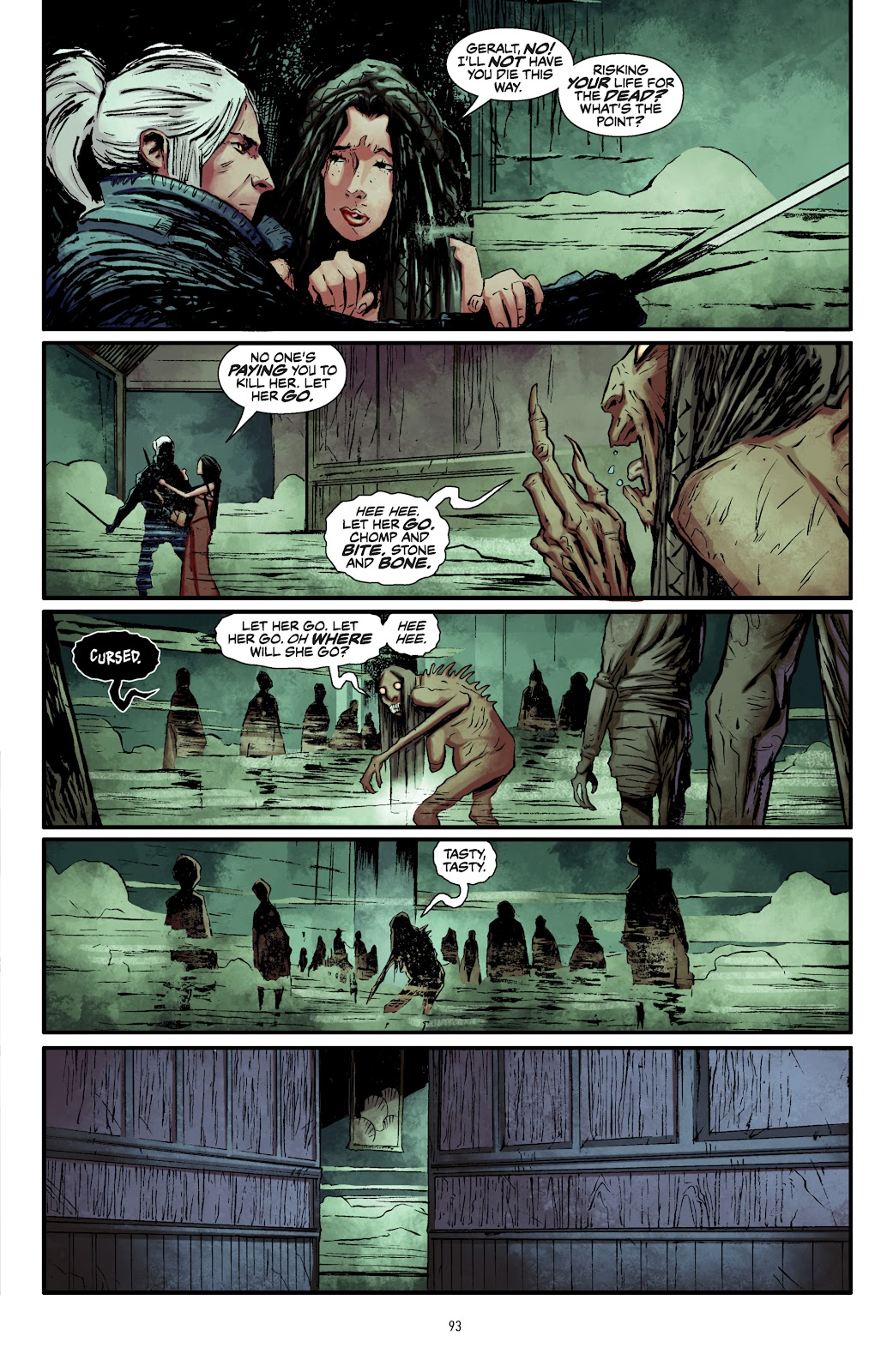 Read online The Witcher Omnibus comic -  Issue # TPB (Part 1) - 91