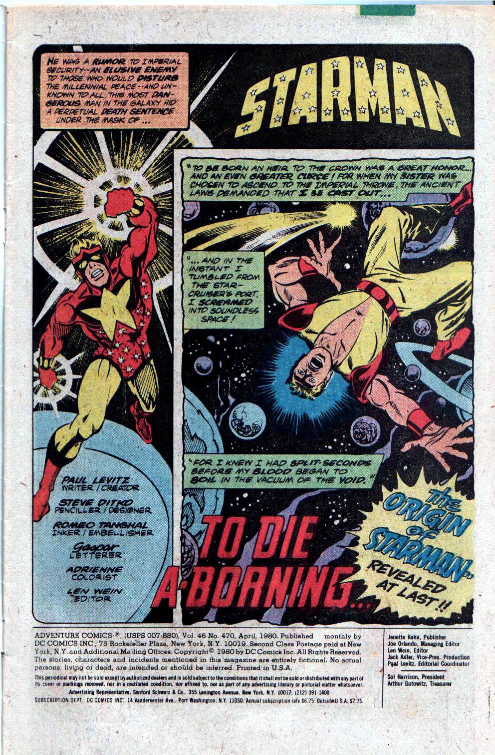Read online Adventure Comics (1938) comic -  Issue #470 - 3