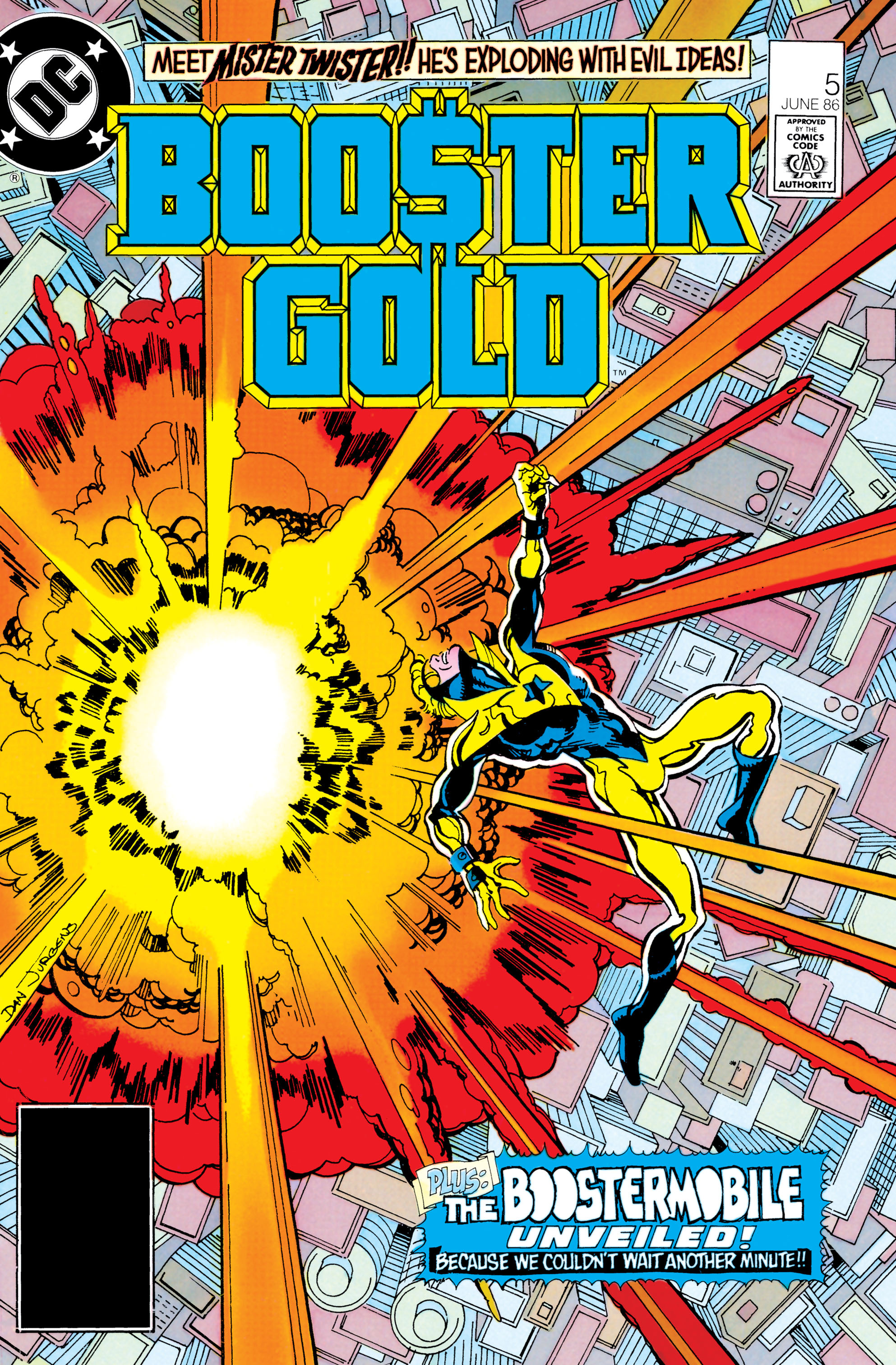 Booster Gold 1986 Issue 5