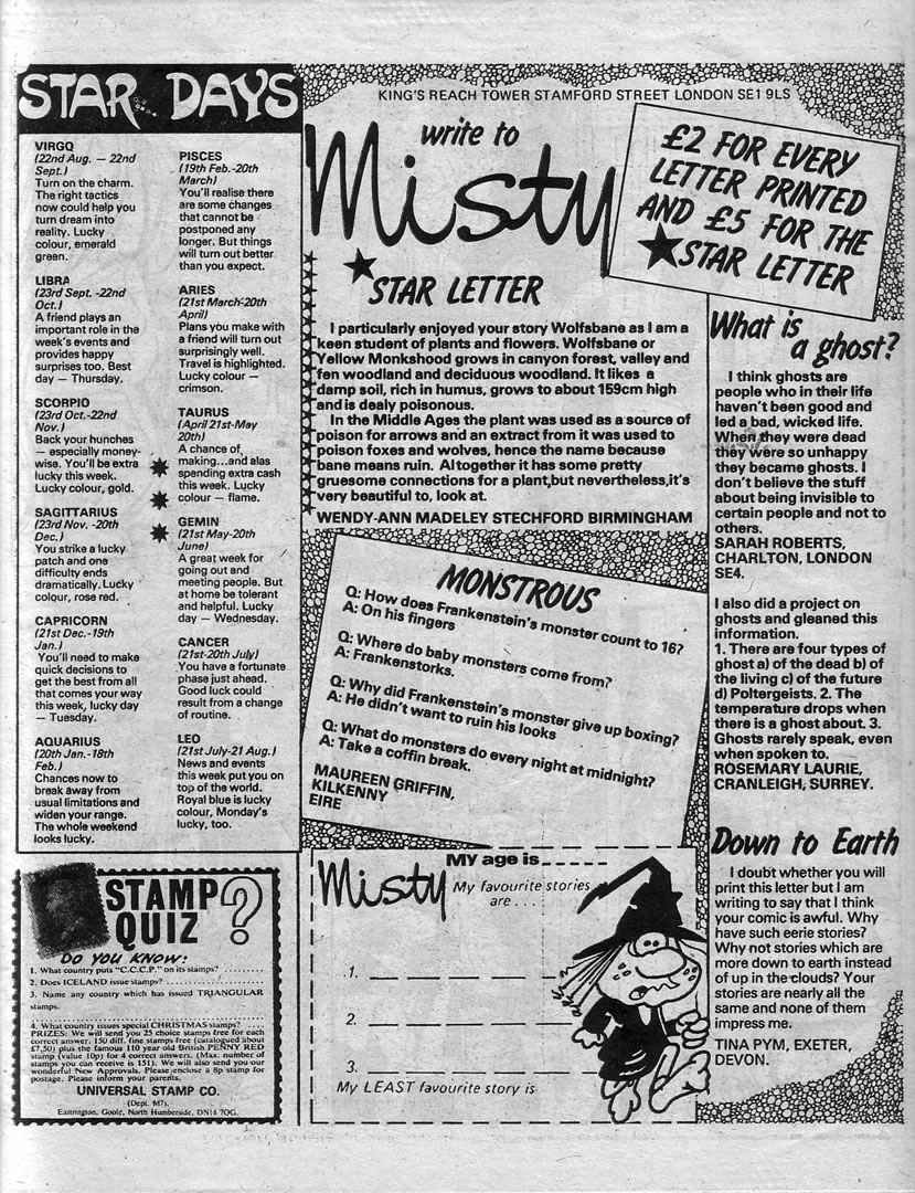 Read online Misty comic -  Issue #81 - 26