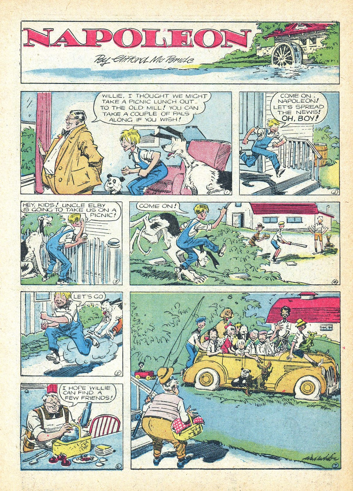 Read online Famous Funnies comic -  Issue #95 - 55