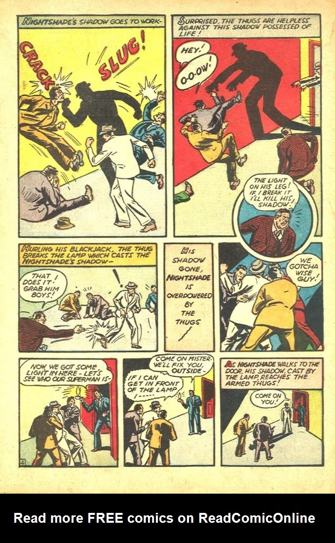 Read online Amazing Man Comics comic -  Issue #25 - 64