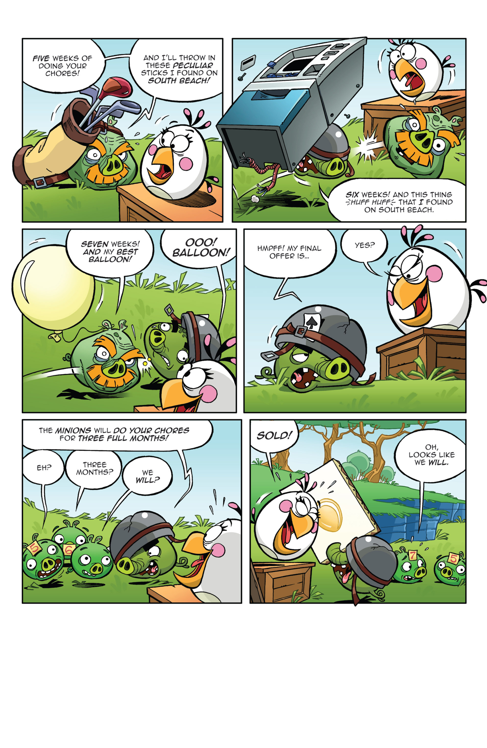 Read online Angry Birds Comics (2014) comic -  Issue #4 - 20