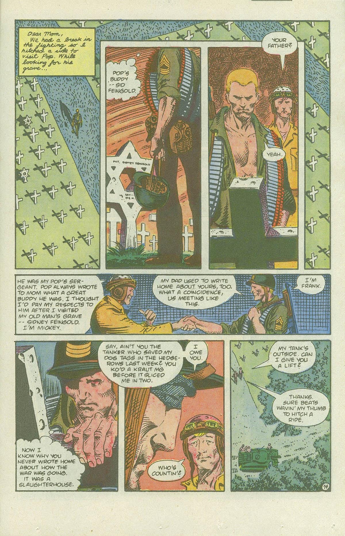 Read online Sgt. Rock comic -  Issue #419 - 19