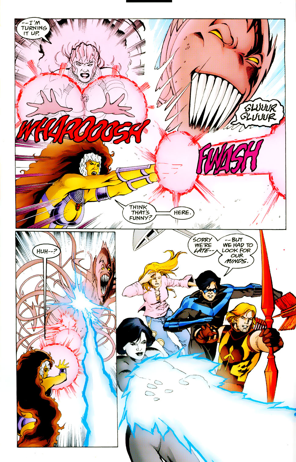 Read online The Titans (1999) comic -  Issue #50 - 16