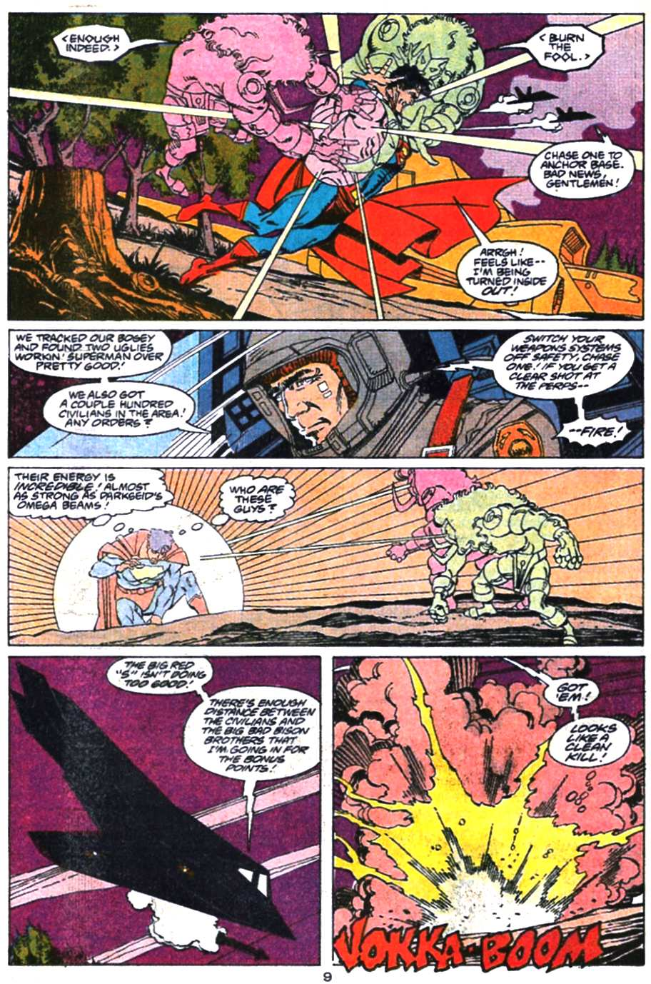 Read online Adventures of Superman (1987) comic -  Issue #469 - 10