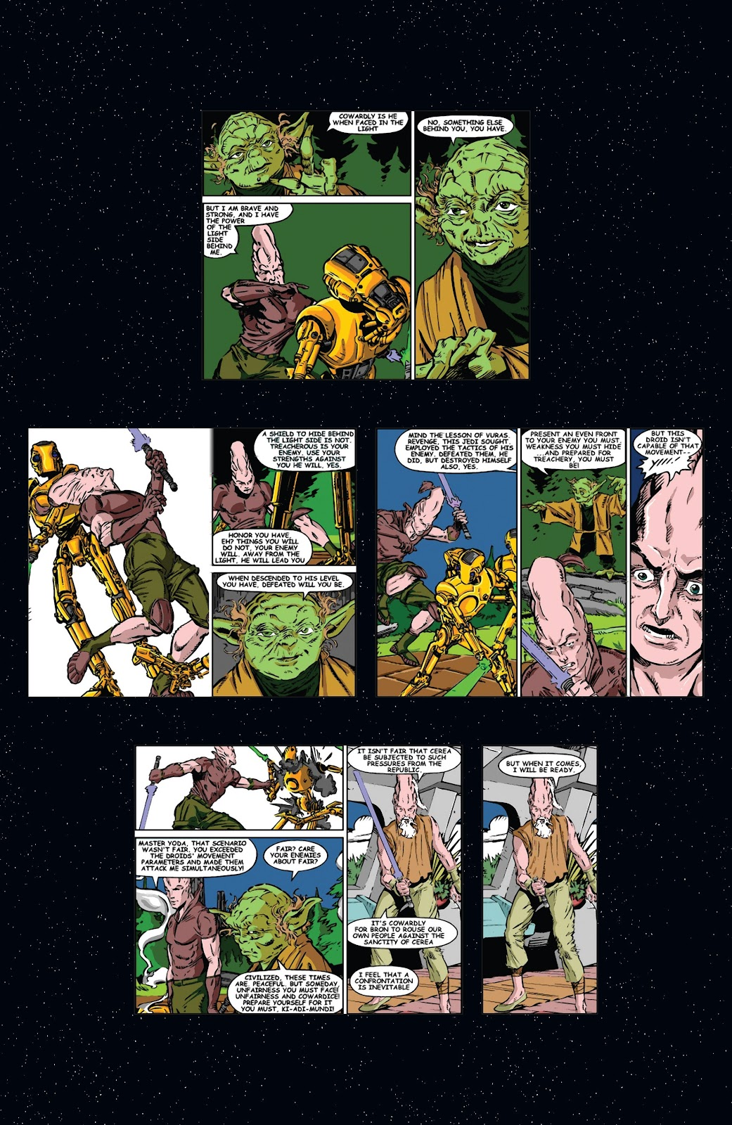 Read online Star Wars Legends: Rise of the Sith - Epic Collection comic -  Issue # TPB 2 (Part 1) - 7