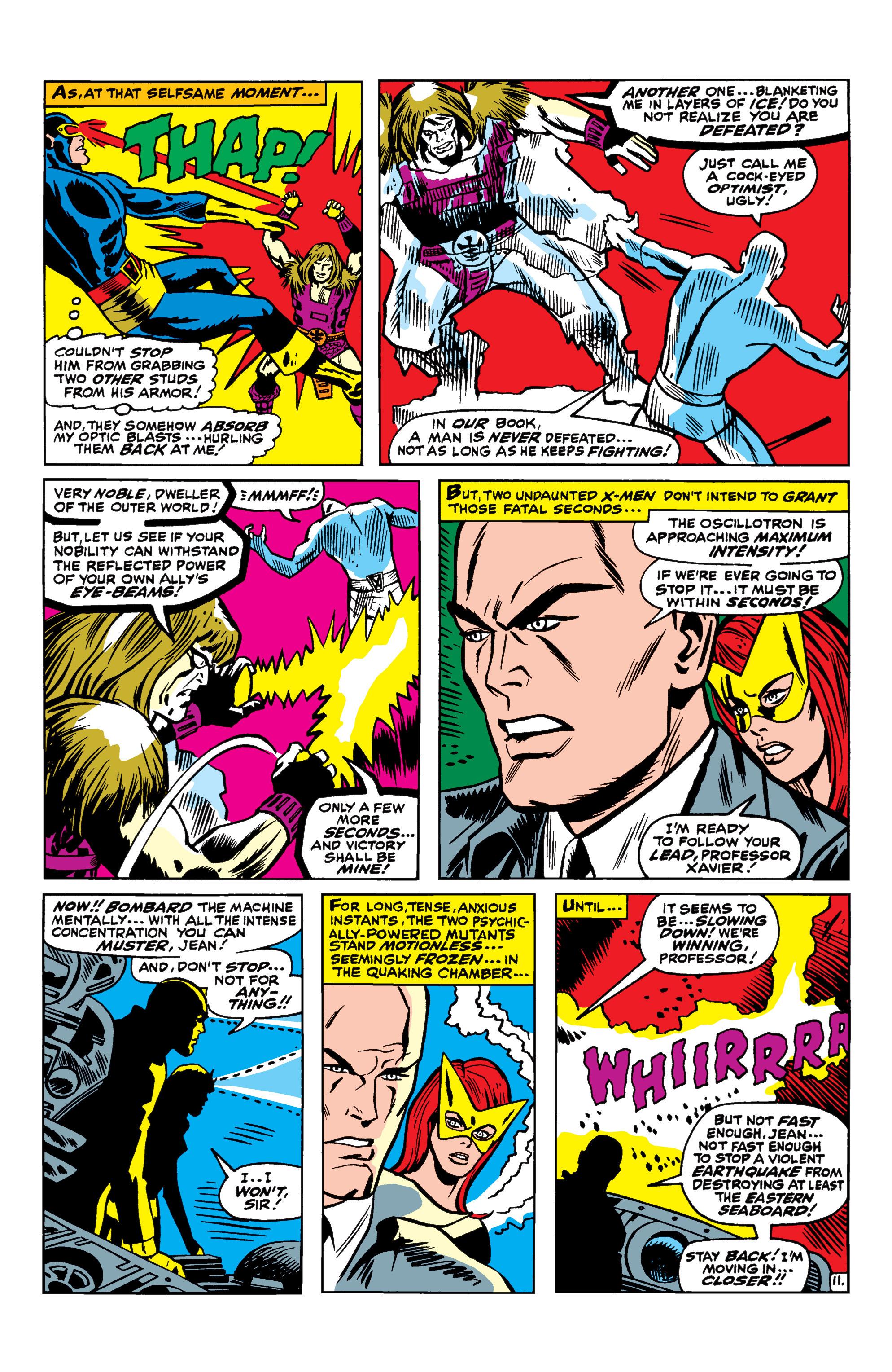 Read online Uncanny X-Men (1963) comic -  Issue #42 - 12