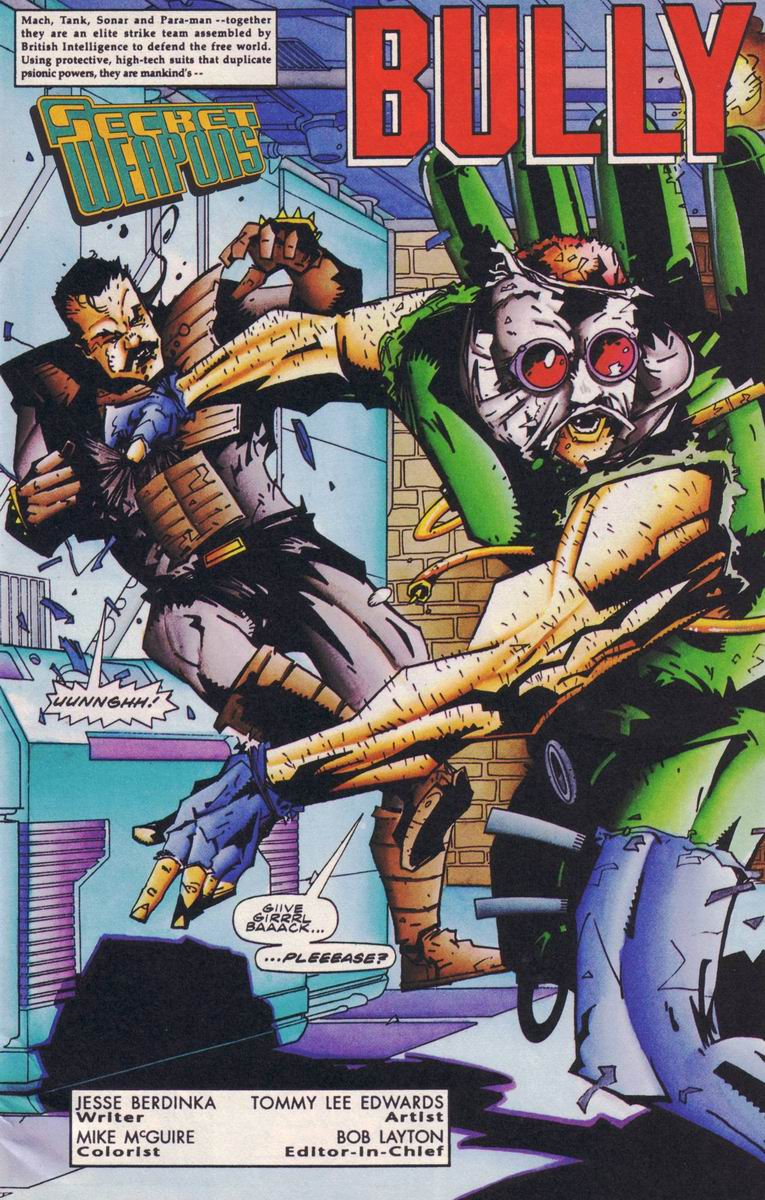 Read online Secret Weapons comic -  Issue #18 - 2