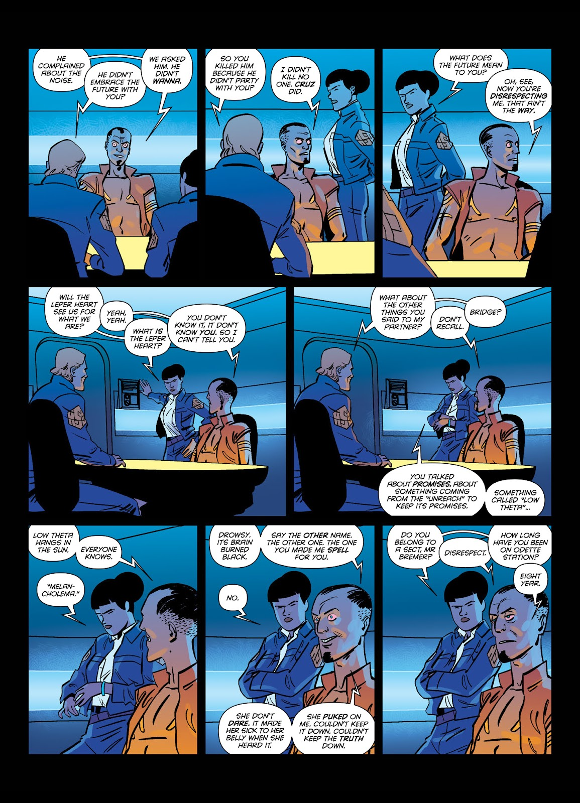 Read online Brink comic -  Issue # TPB 1 - 14