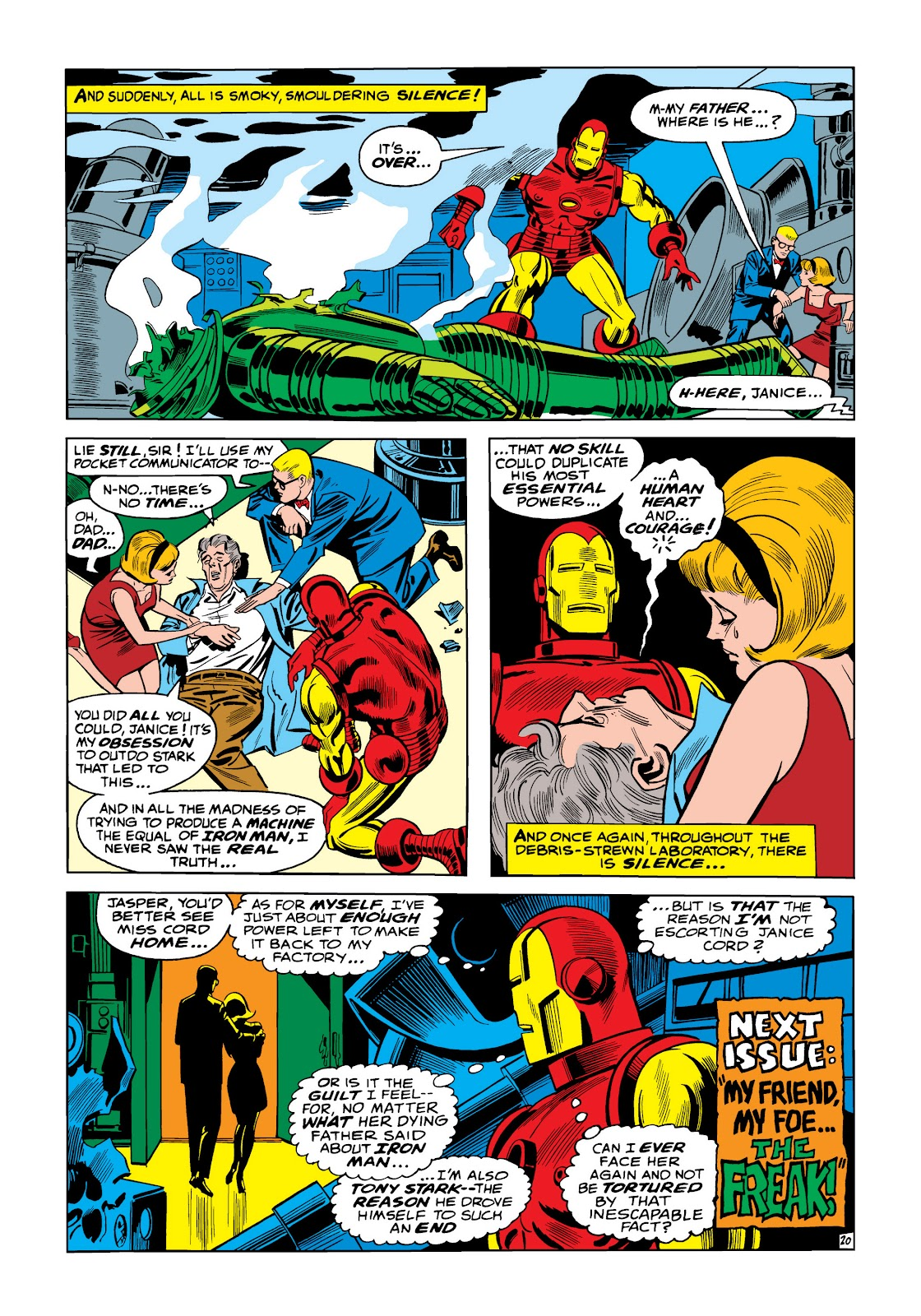 Read online Marvel Masterworks: The Invincible Iron Man comic -  Issue # TPB 5 (Part 1) - 27