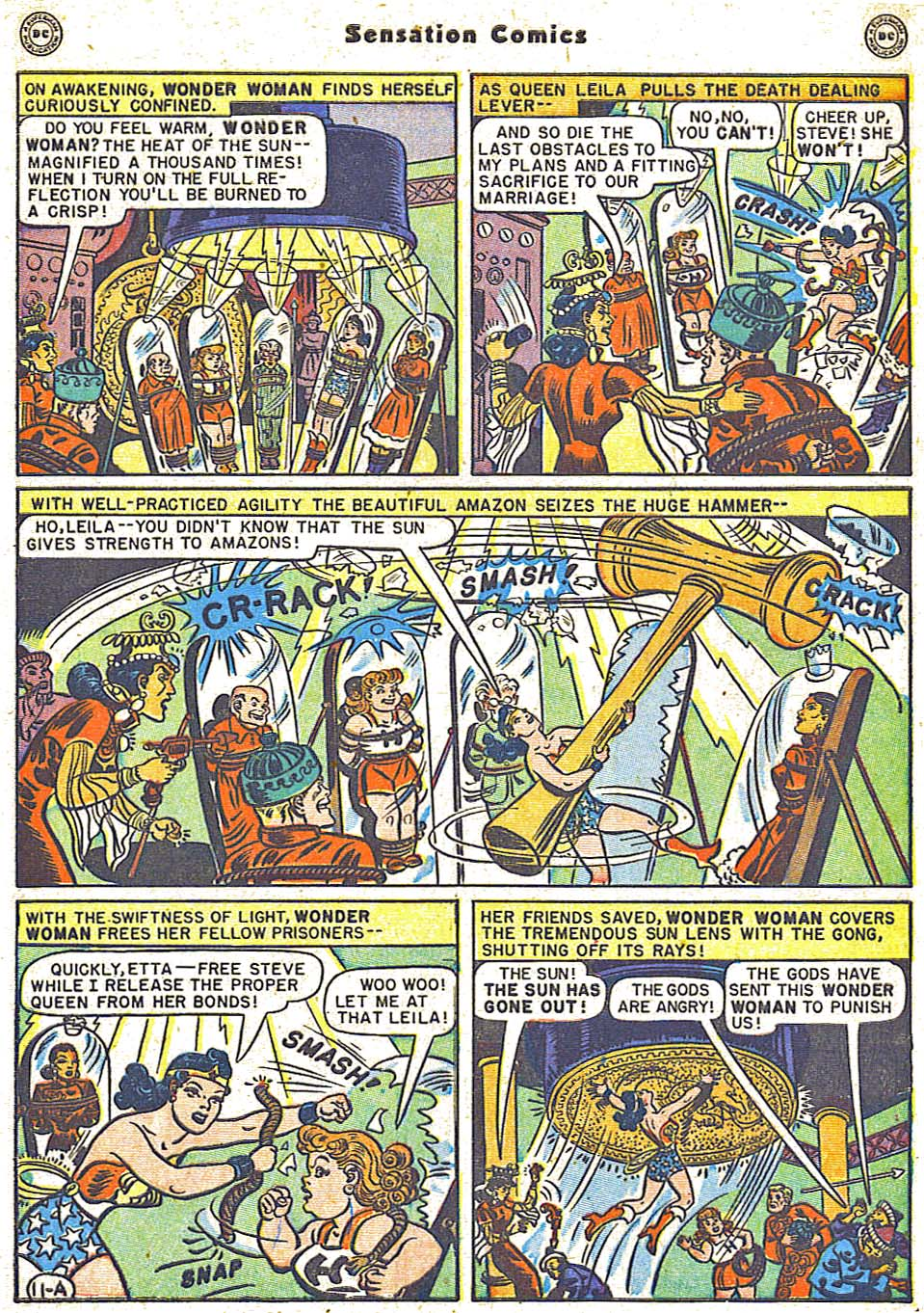 Read online Sensation (Mystery) Comics comic -  Issue #79 - 13