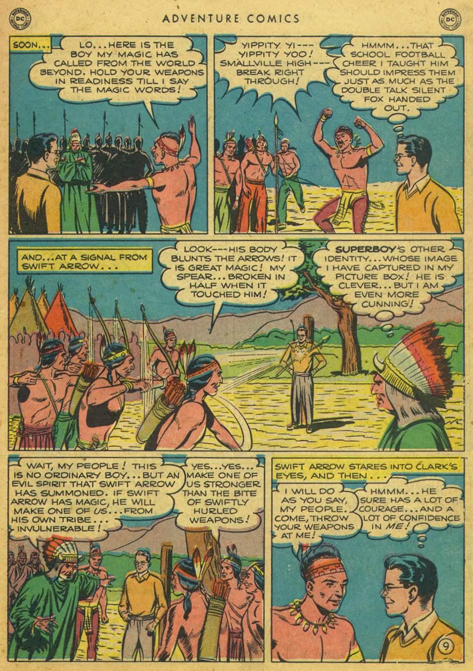 Read online Adventure Comics (1938) comic -  Issue #164 - 11