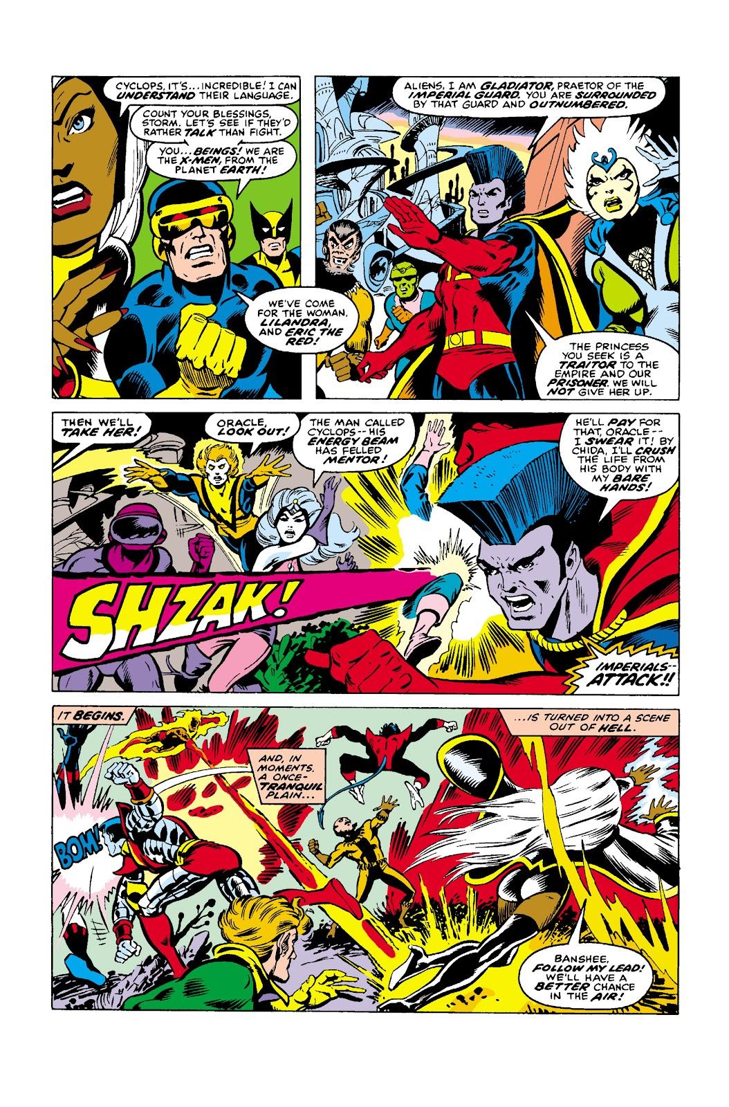 Uncanny X-Men (1963) issue 107 - Page 4