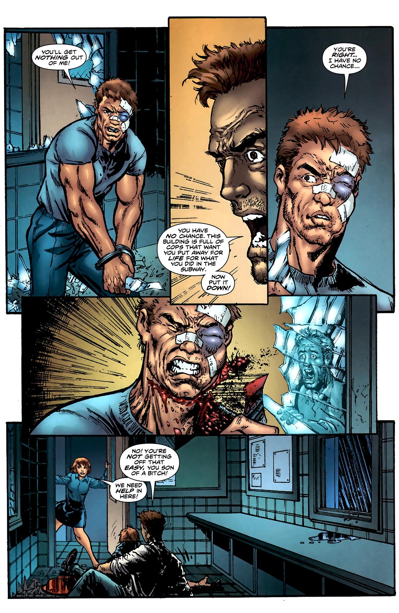 Read online ShadowHawk (2010) comic -  Issue #4 - 13
