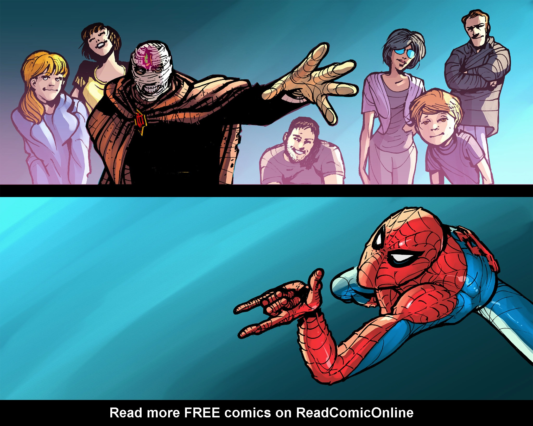 Read online Amazing Spider-Man: Who Am I? comic -  Issue # Full (Part 2) - 240