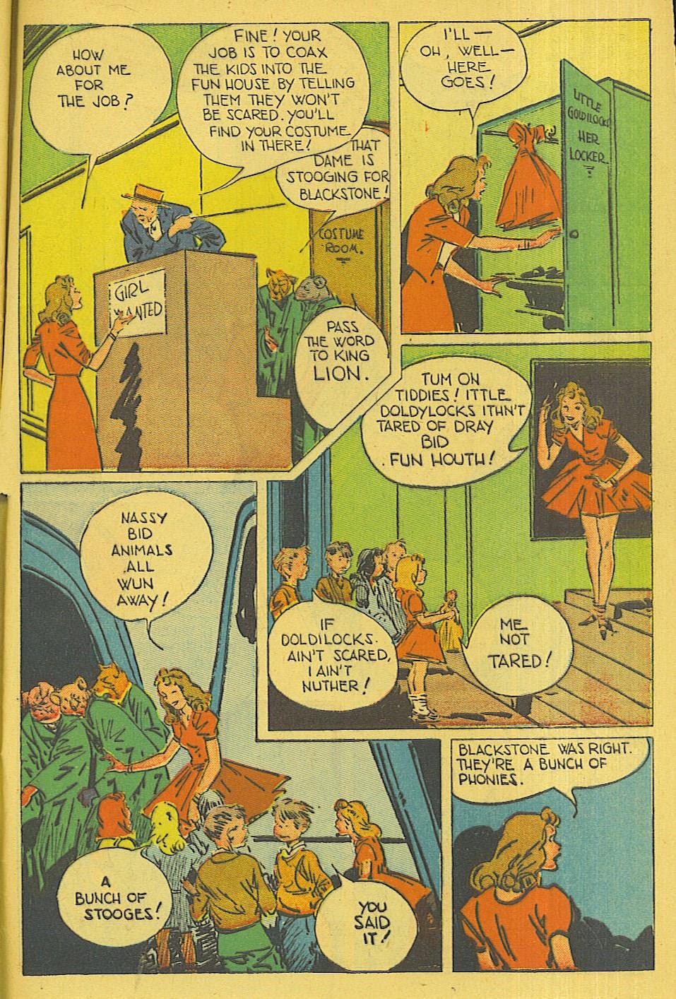 Read online Super-Magician Comics comic -  Issue #42 - 44