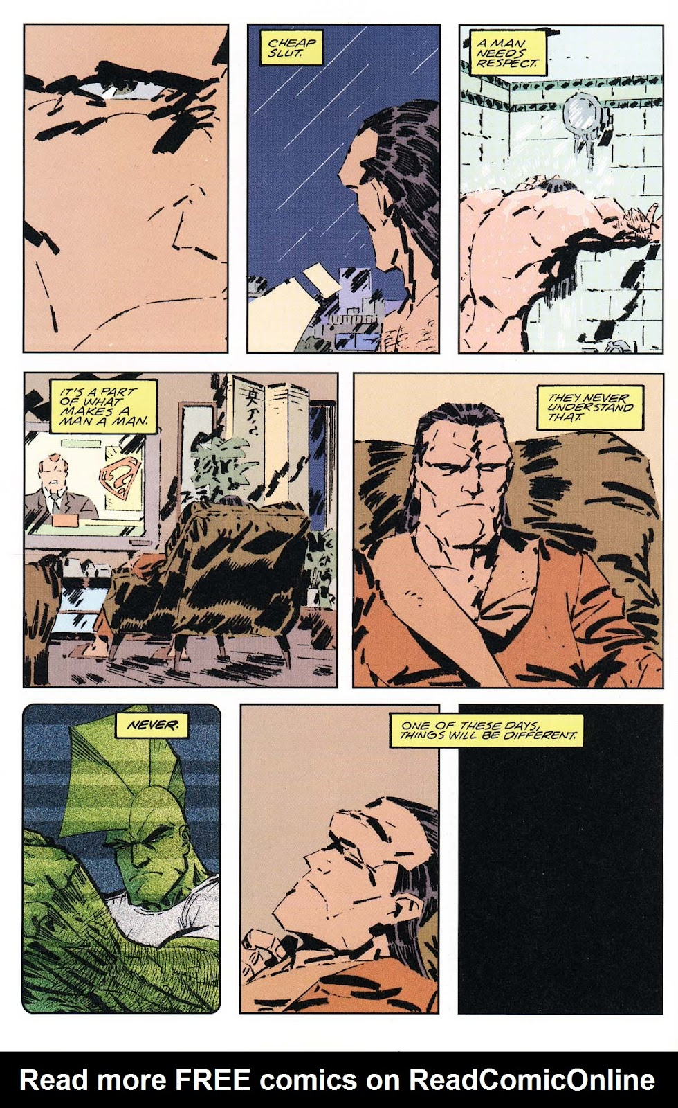 Read online Dominion (2002) comic -  Issue #1 - 8