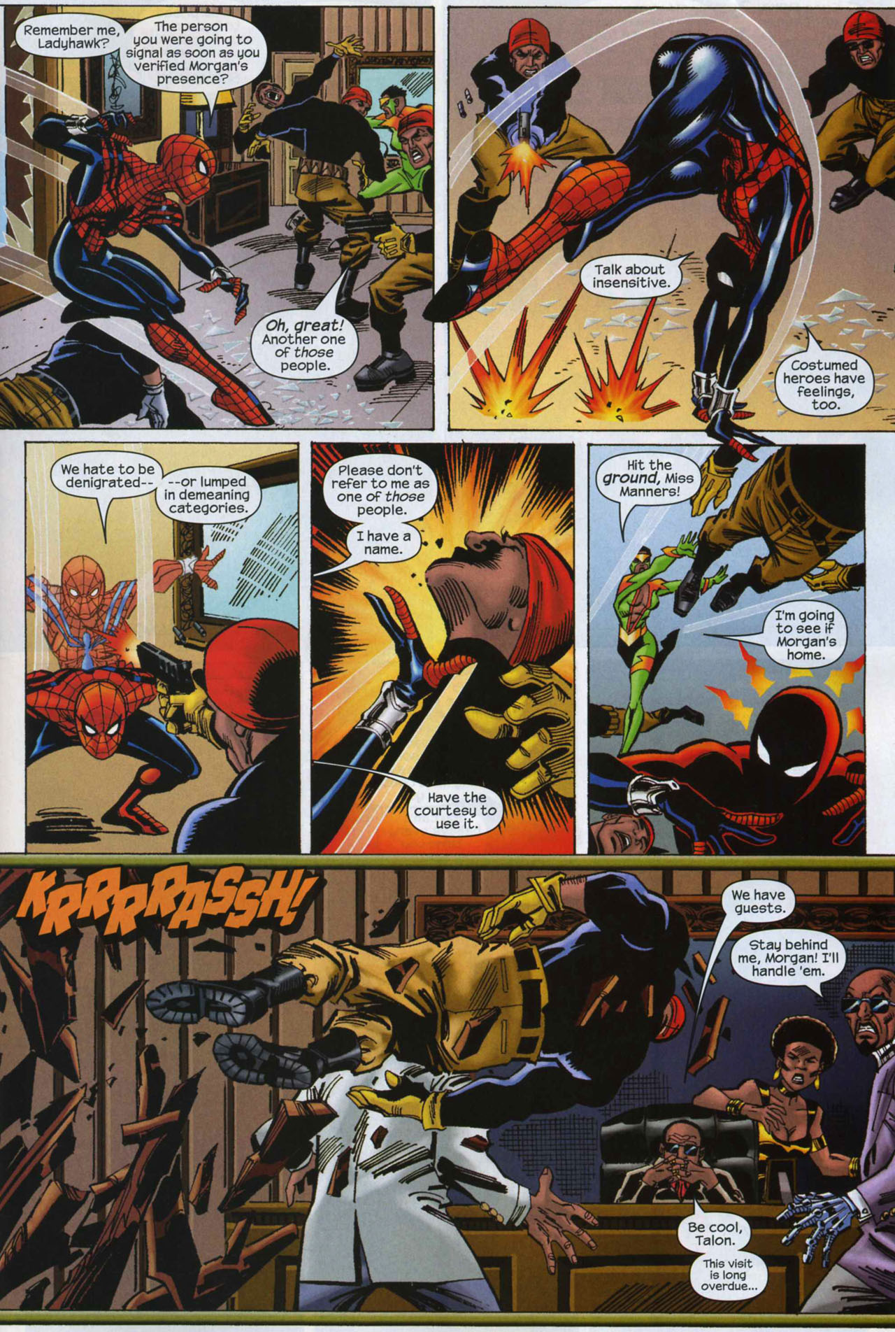 Read online Amazing Spider-Girl comic -  Issue #7 - 18