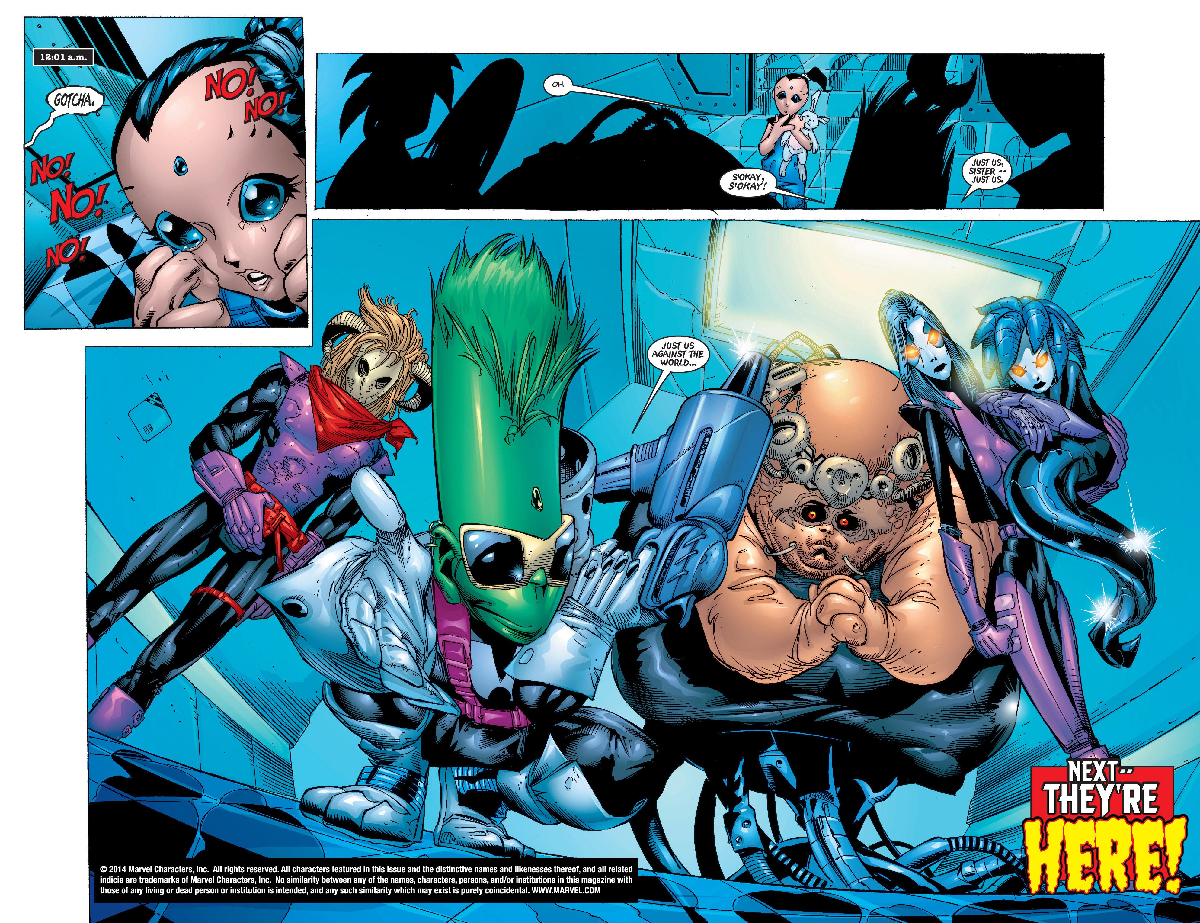 Read online Uncanny X-Men (1963) comic -  Issue #372 - 17