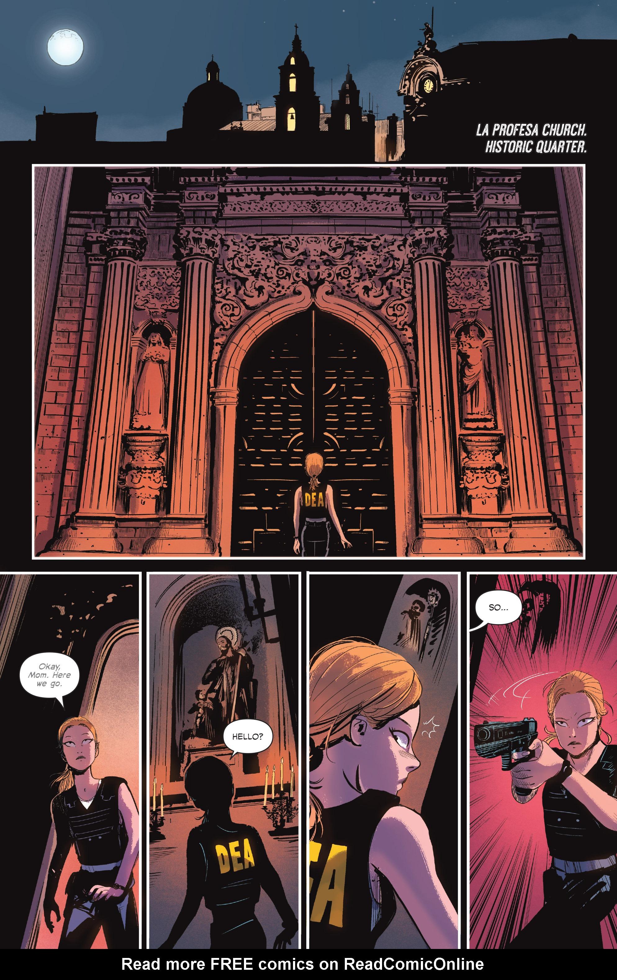Read online Sombra comic -  Issue #1 - 20