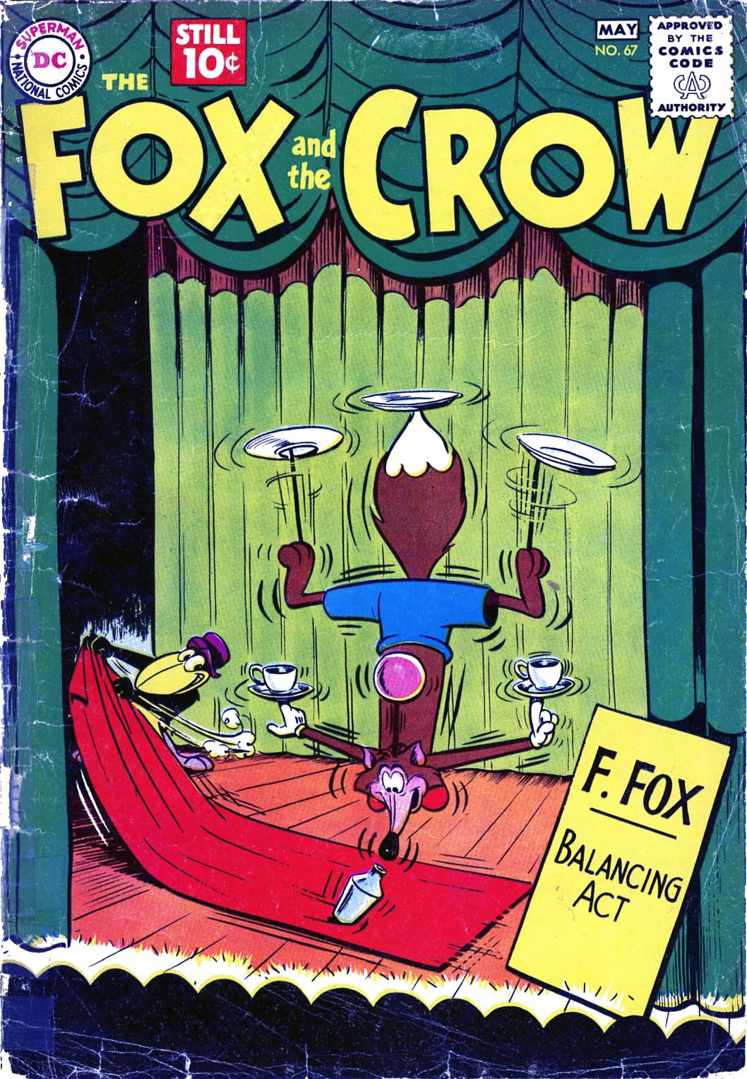 The Fox and the Crow issue 67 - Page 1