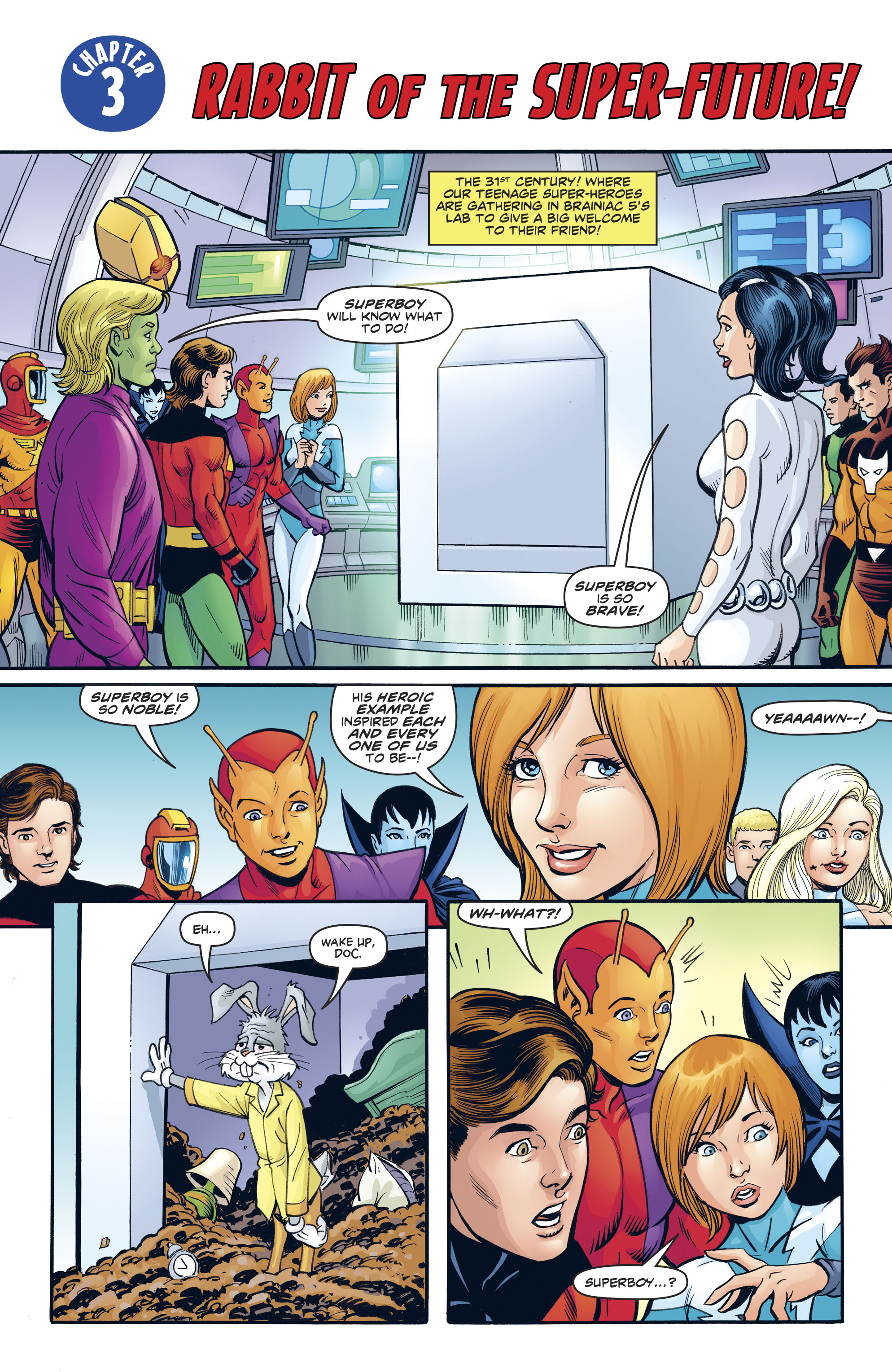 Read online Legion of Super-Heroes/Bugs Bunny Special comic -  Issue # Full - 13