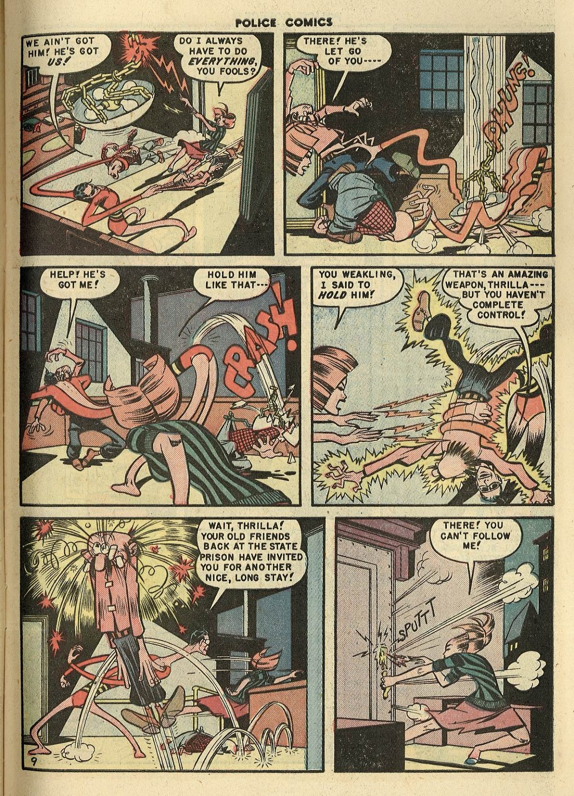 Police Comics issue 100 - Page 11