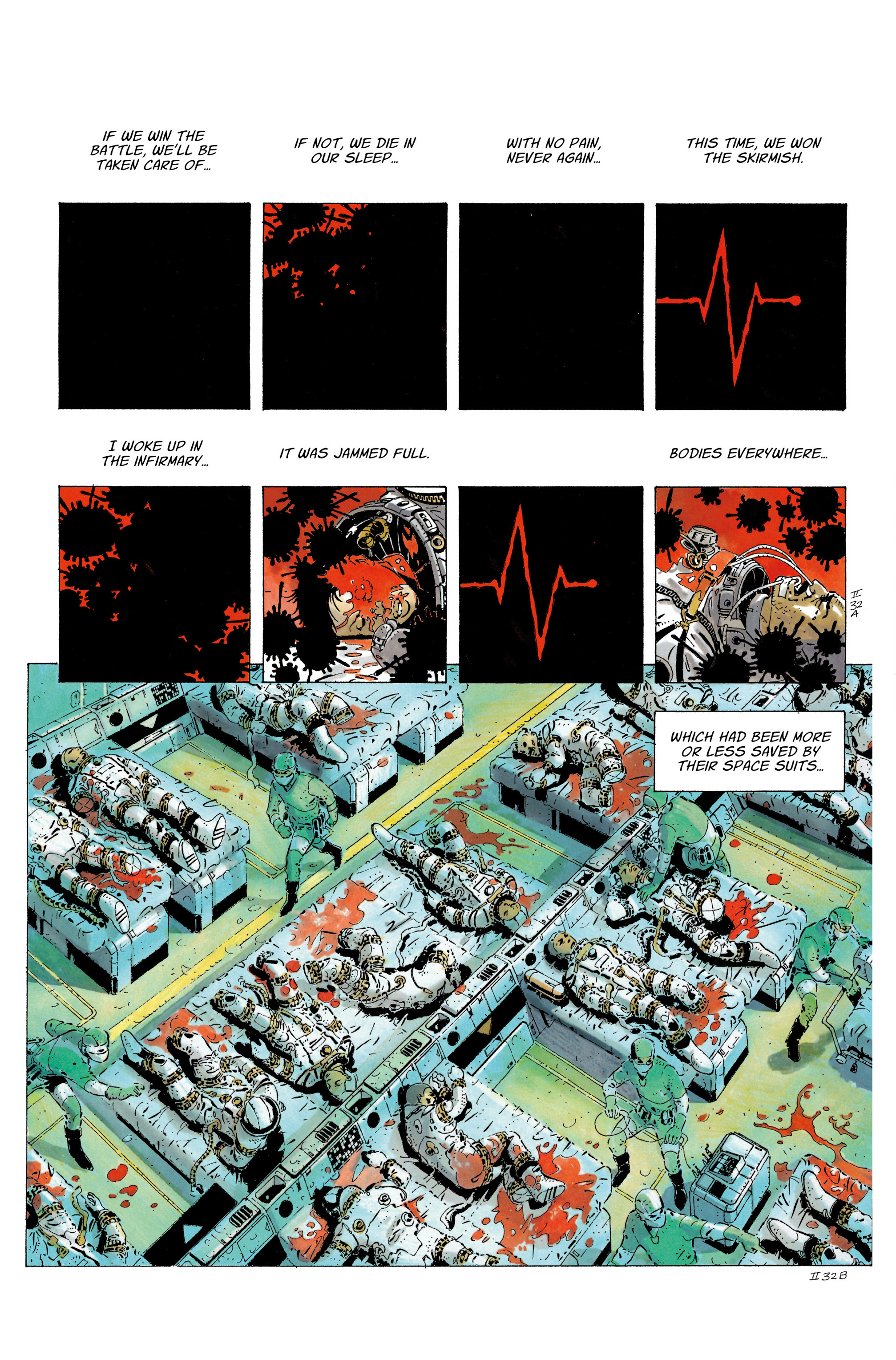 Read online The Forever War (2017) comic -  Issue #4 - 12
