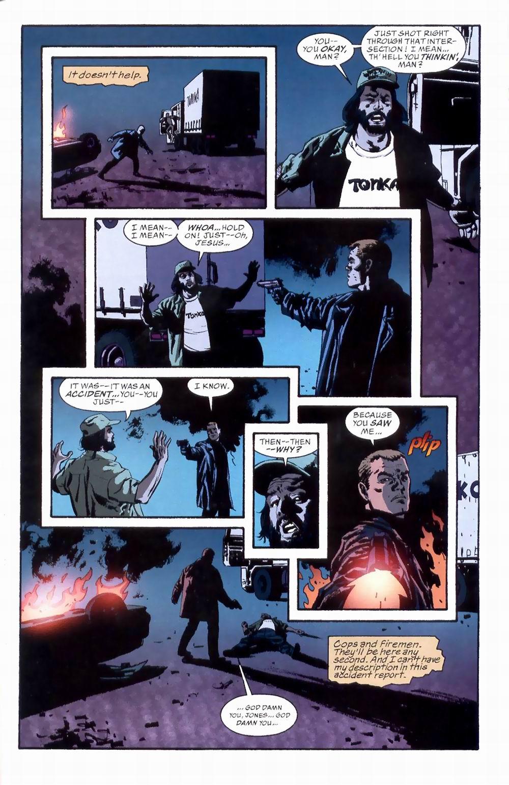 Read online Sleeper comic -  Issue #8 - 23