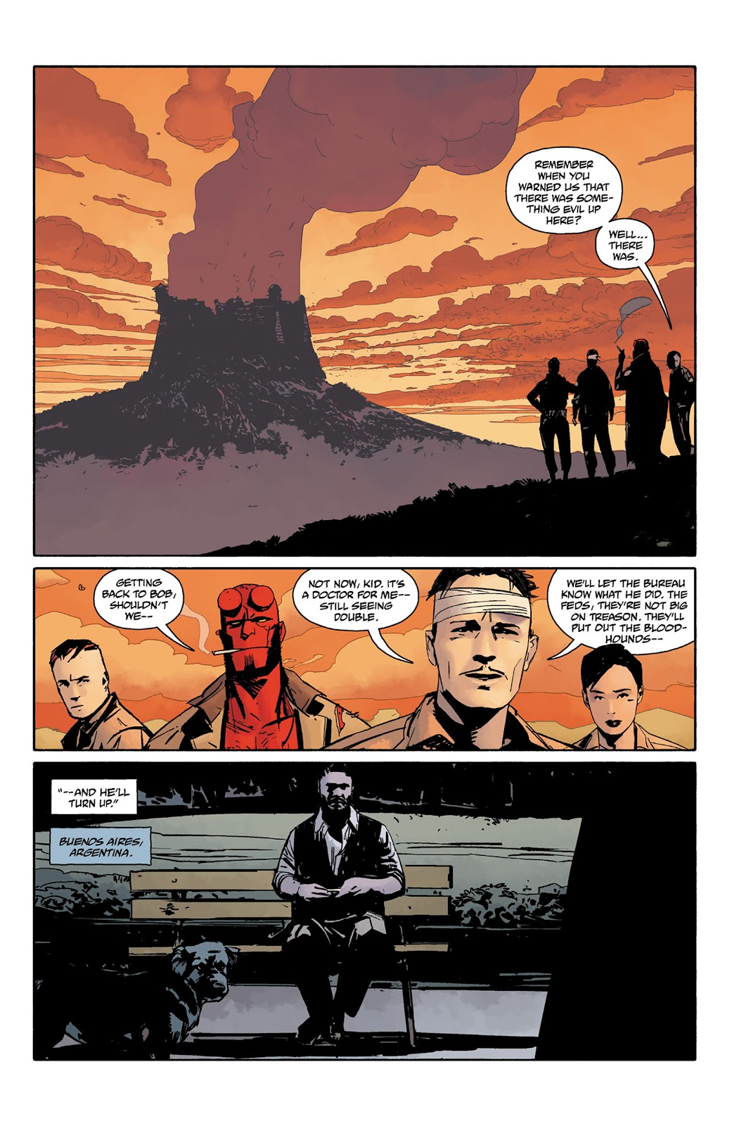 Read online Hellboy and the B.P.R.D. comic -  Issue # _TPB - 120