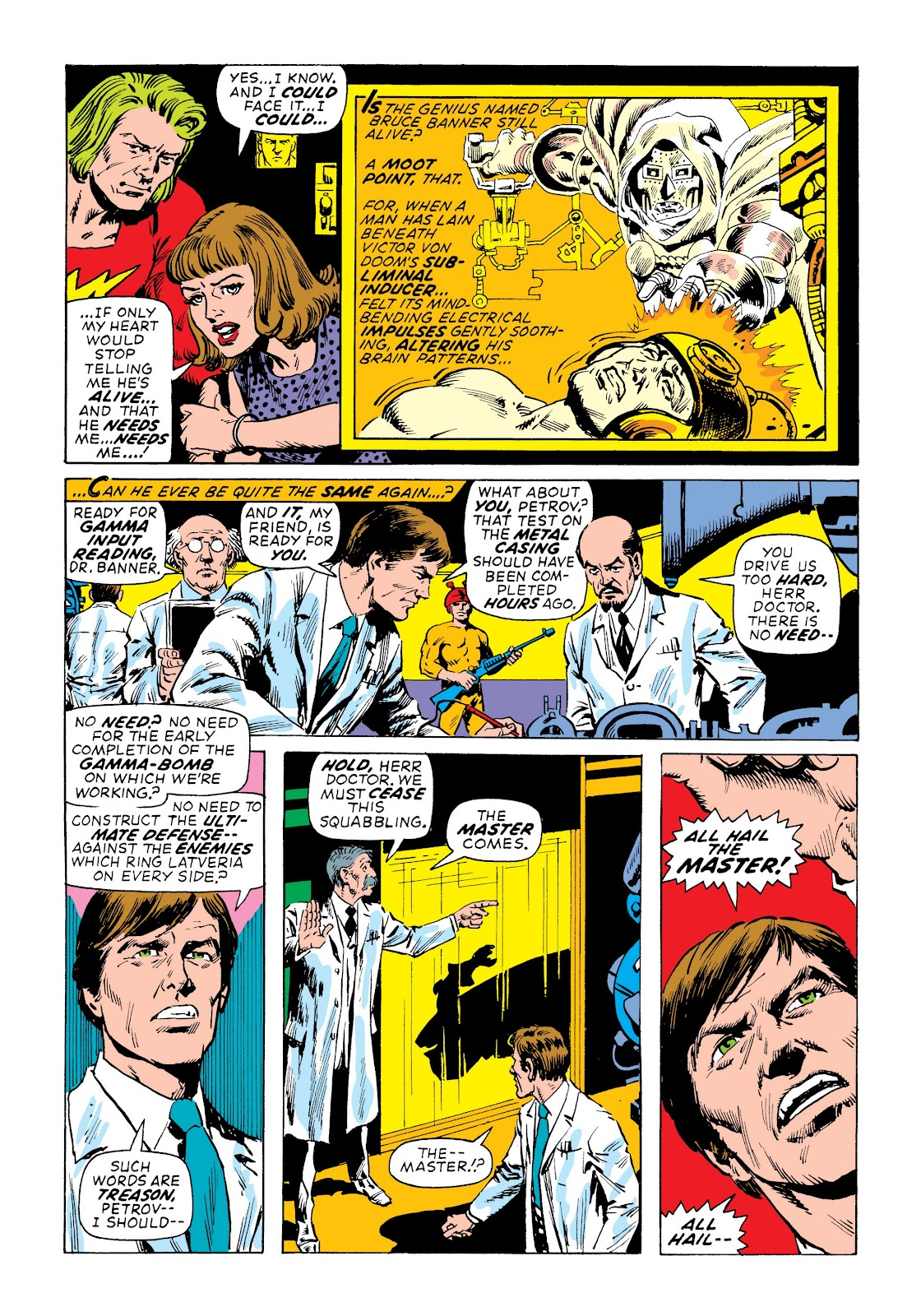 Read online Marvel Masterworks: The Incredible Hulk comic -  Issue # TPB 7 (Part 3) - 10