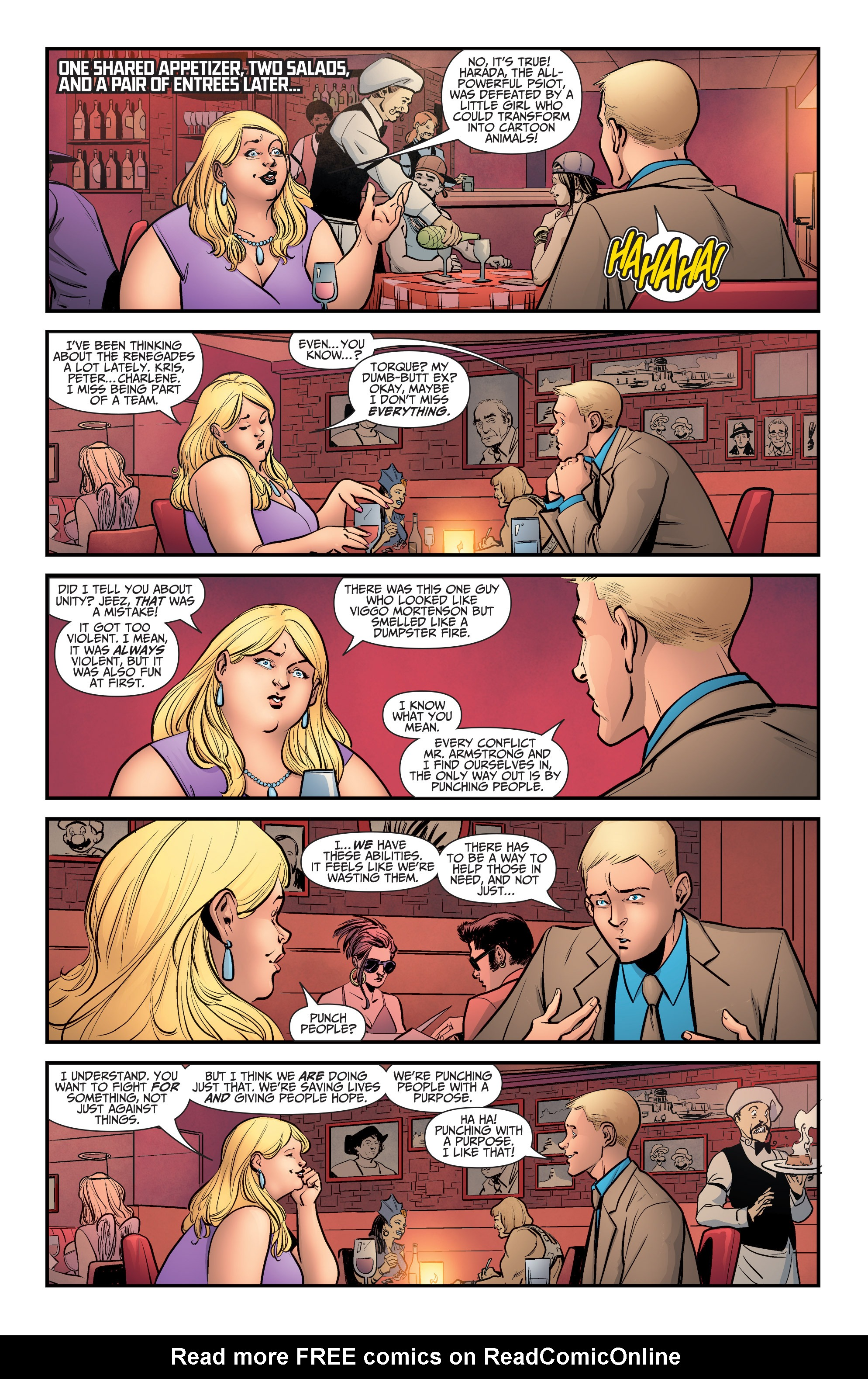 Read online A&A: The Adventures of Archer & Armstrong comic -  Issue #5 - 9