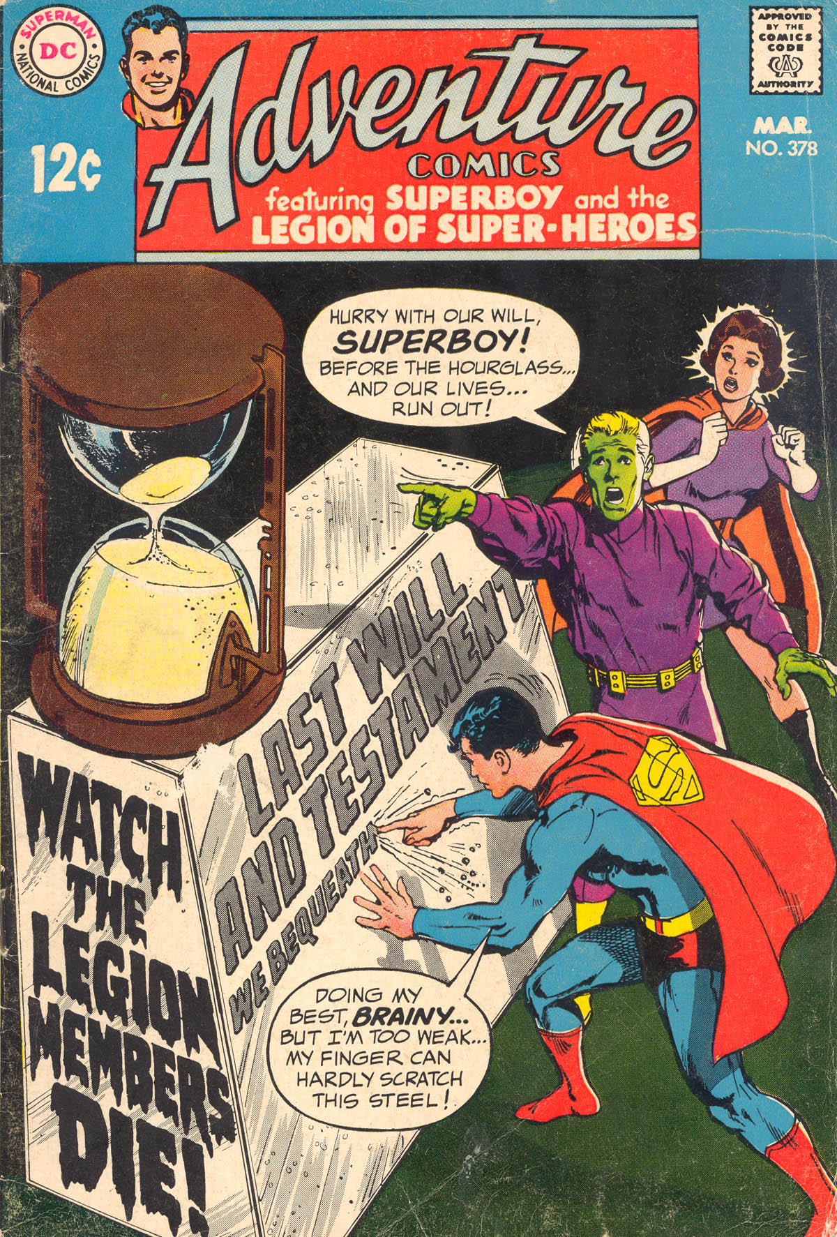 Read online Adventure Comics (1938) comic -  Issue #378 - 1