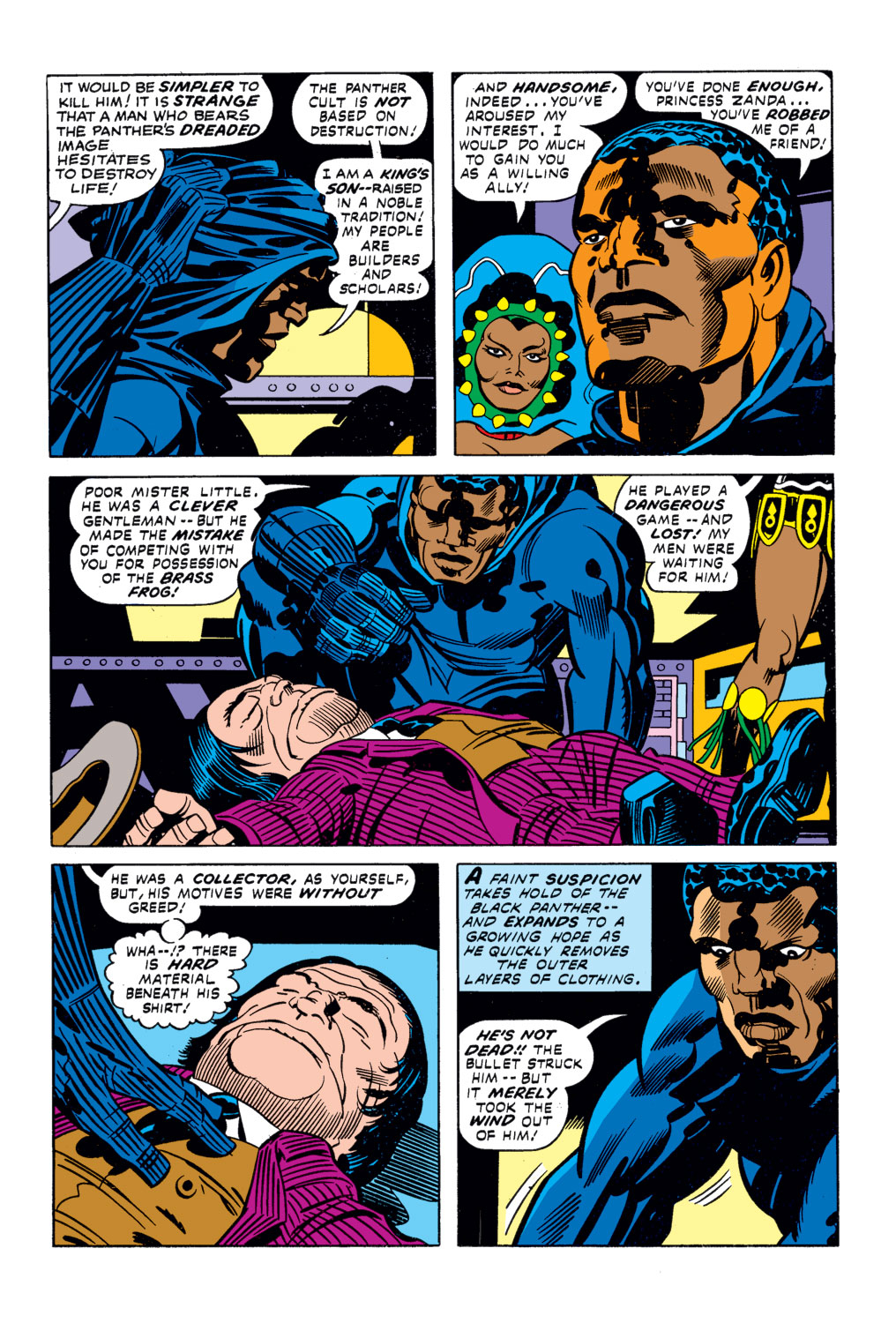 Black Panther (1977) issue 2 - Page 8