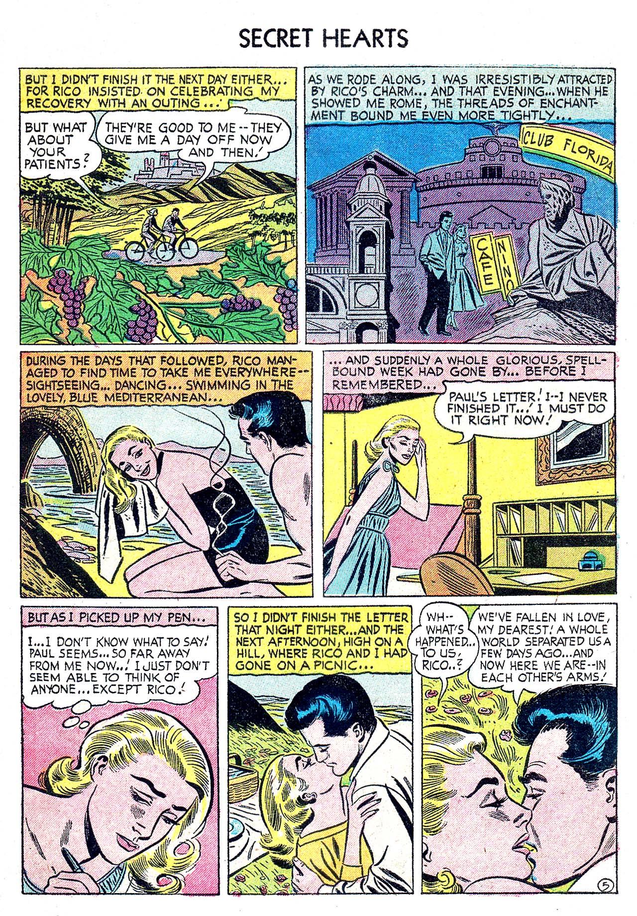 Read online Secret Hearts comic -  Issue #32 - 7