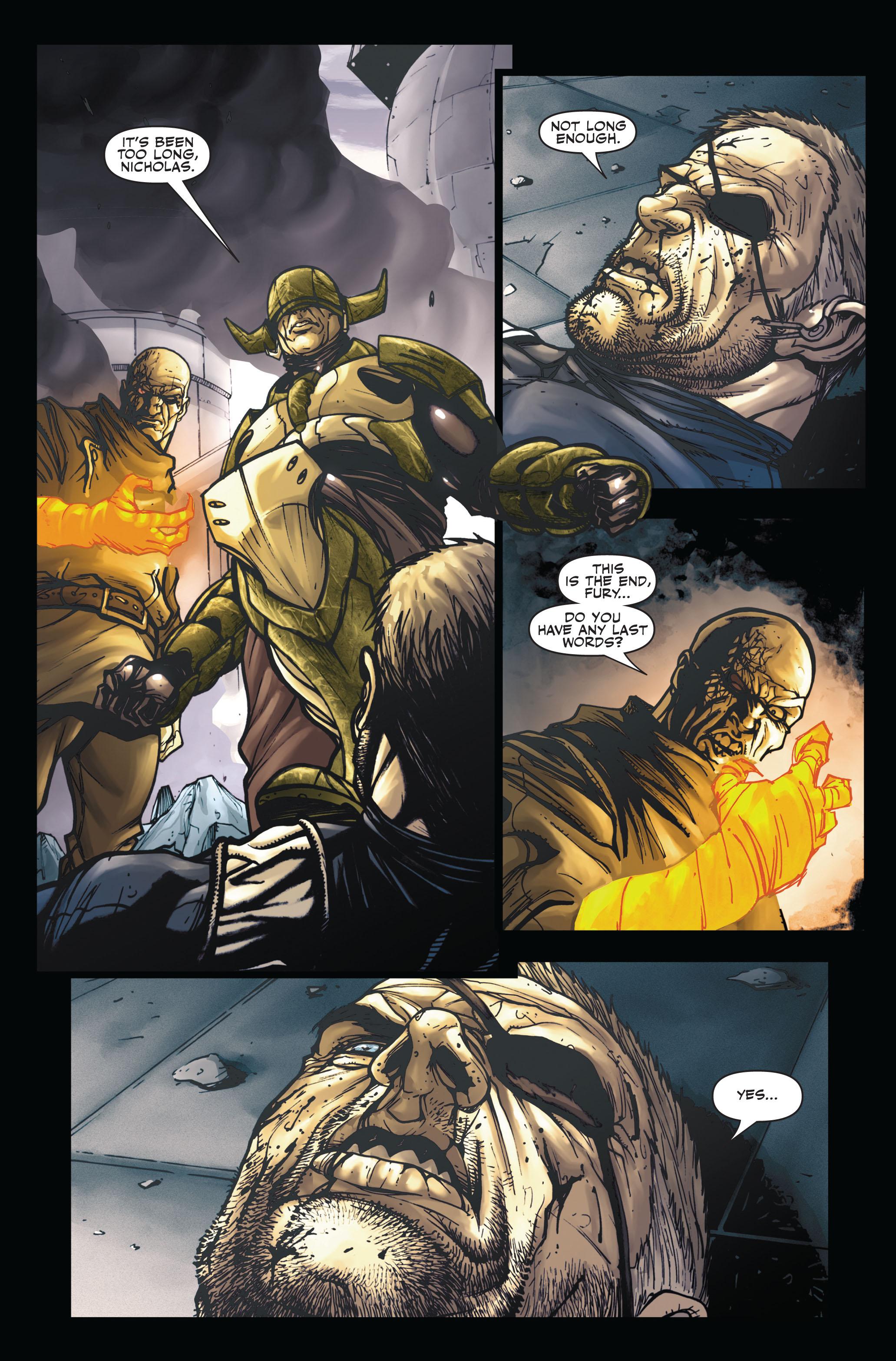 Read online Secret Warriors comic -  Issue #5 - 21