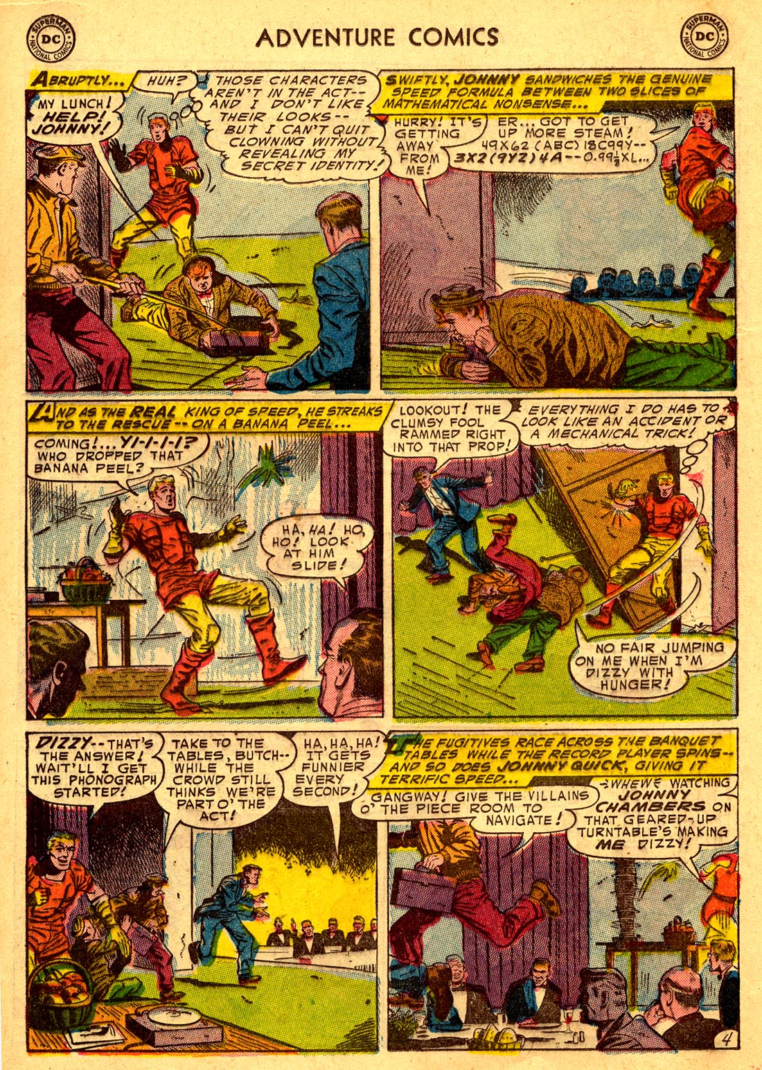 Read online Adventure Comics (1938) comic -  Issue #204 - 28