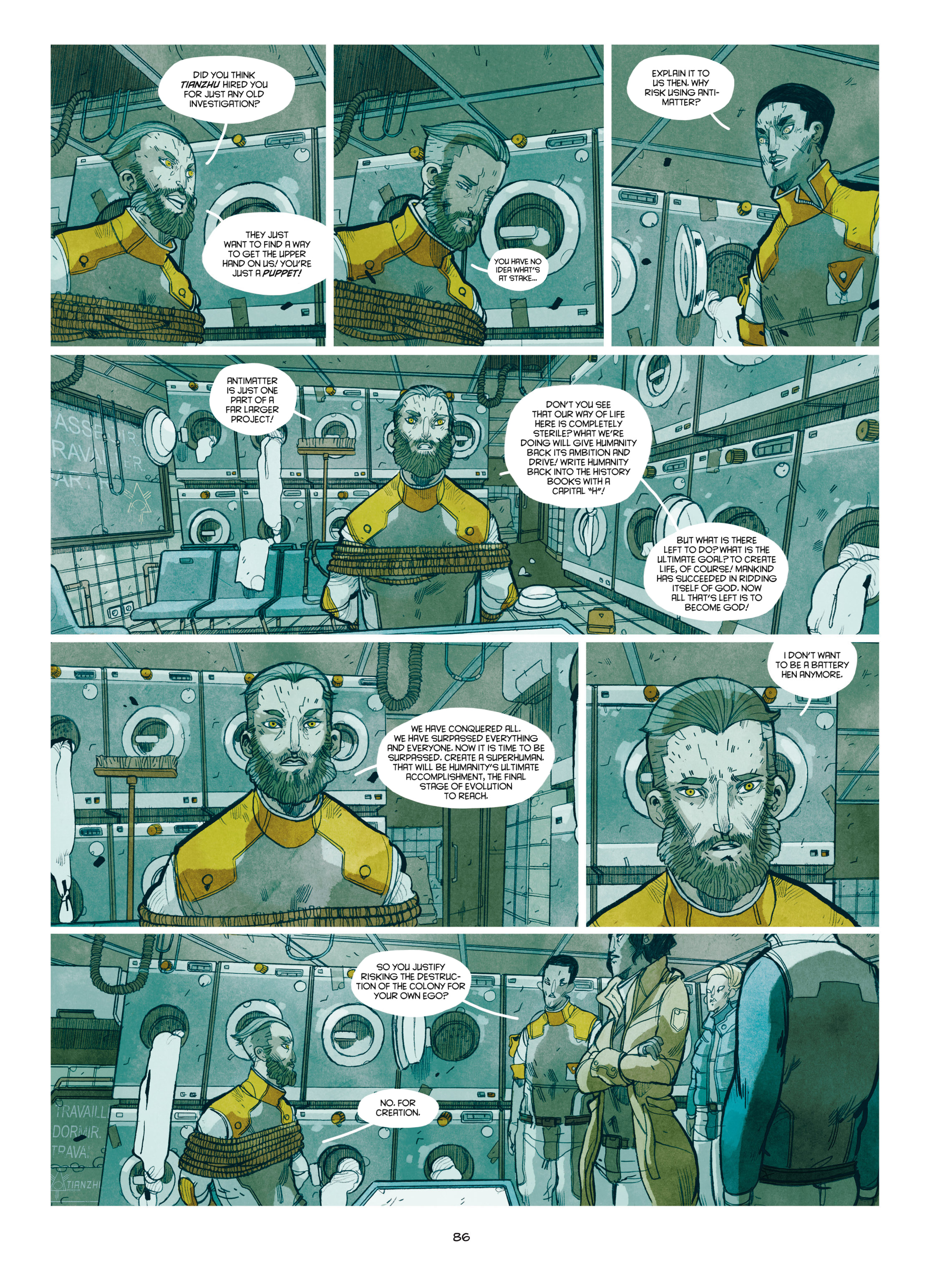 Read online Shangri-La comic -  Issue # Full - 87